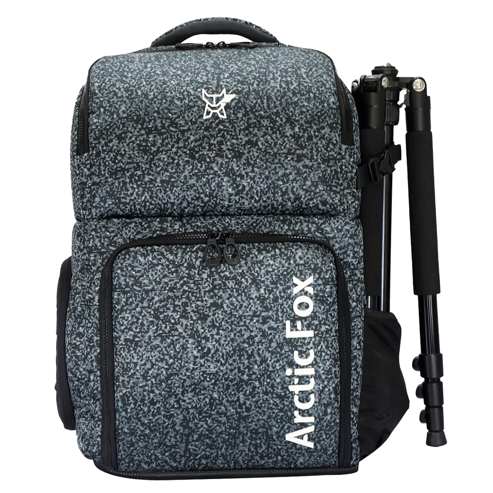 Arctic Fox Polaroid Polyester PU Coated Camera Backpack for Camera (15.5 Inch Laptop Compatible, FEXCMBJTBON200030, Jet Black)_1