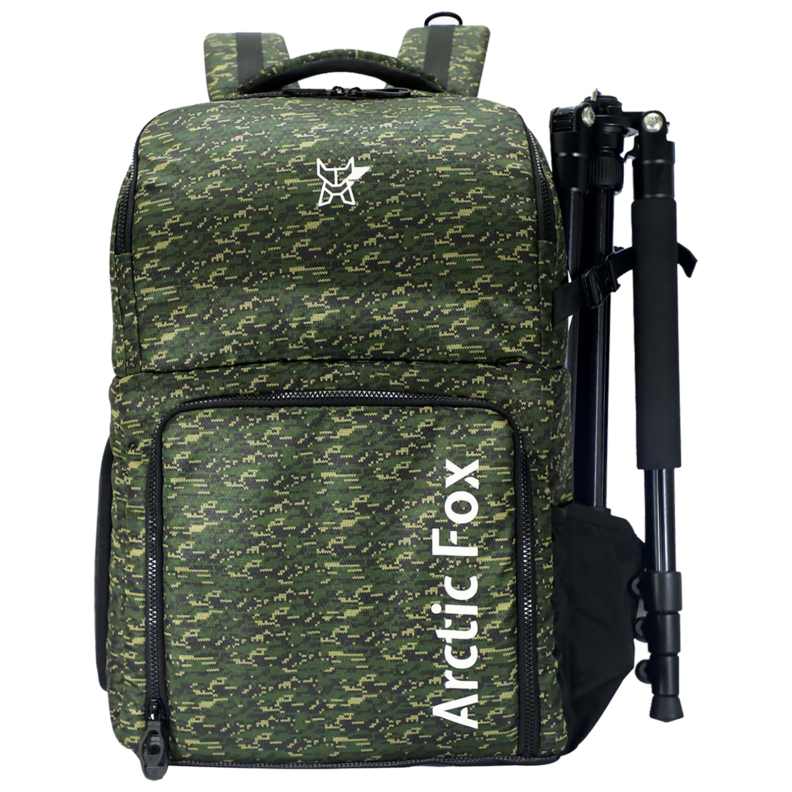 Arctic Fox Polaroid Polyester PU Coated Camera Backpack for Camera (15.5 Inch Laptop Compatible, FEXCMBOLVON199030, Green)_1