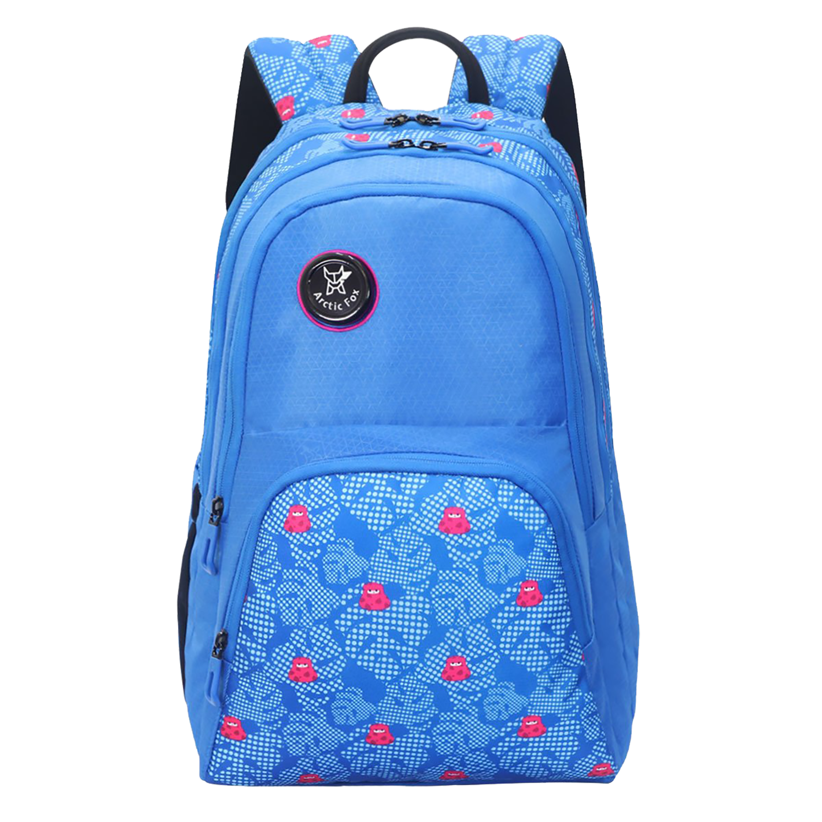 Arctic Fox Lama 31 Litres PU Coated Polyester Backpack (3 Spacious Compartments, FJUBPKDTBWZ074031, Directorie Blue)_1