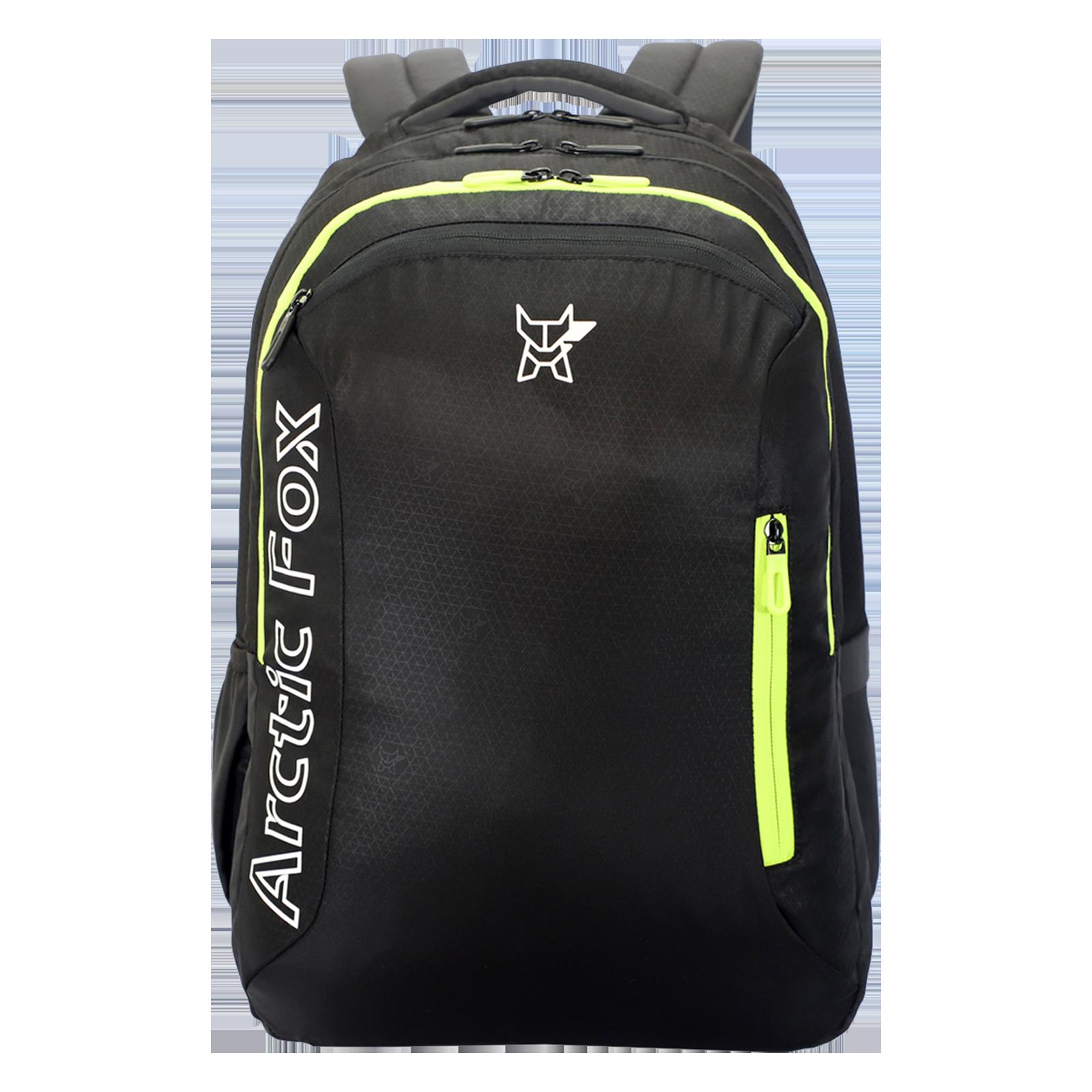 Arctic Fox Arc Jet 40 Litres Twill Polyester Backpack(Drawstring Rain Cover, FJUBPKJTBON030040, Black)_1
