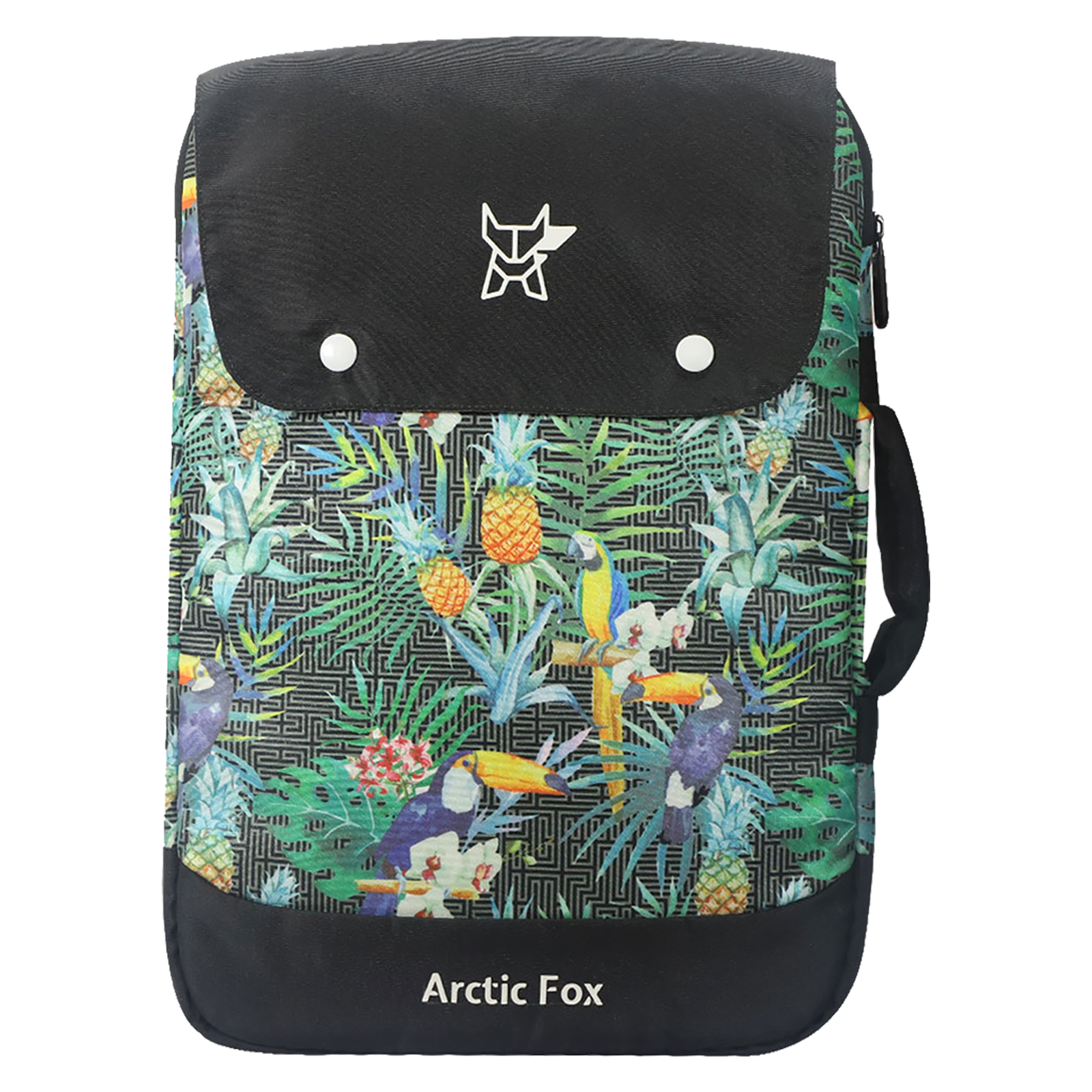 Arctic Fox Bonded Polyester Fabric Sleeve for Laptop (FACLSLSUMOE137000, Green)_1