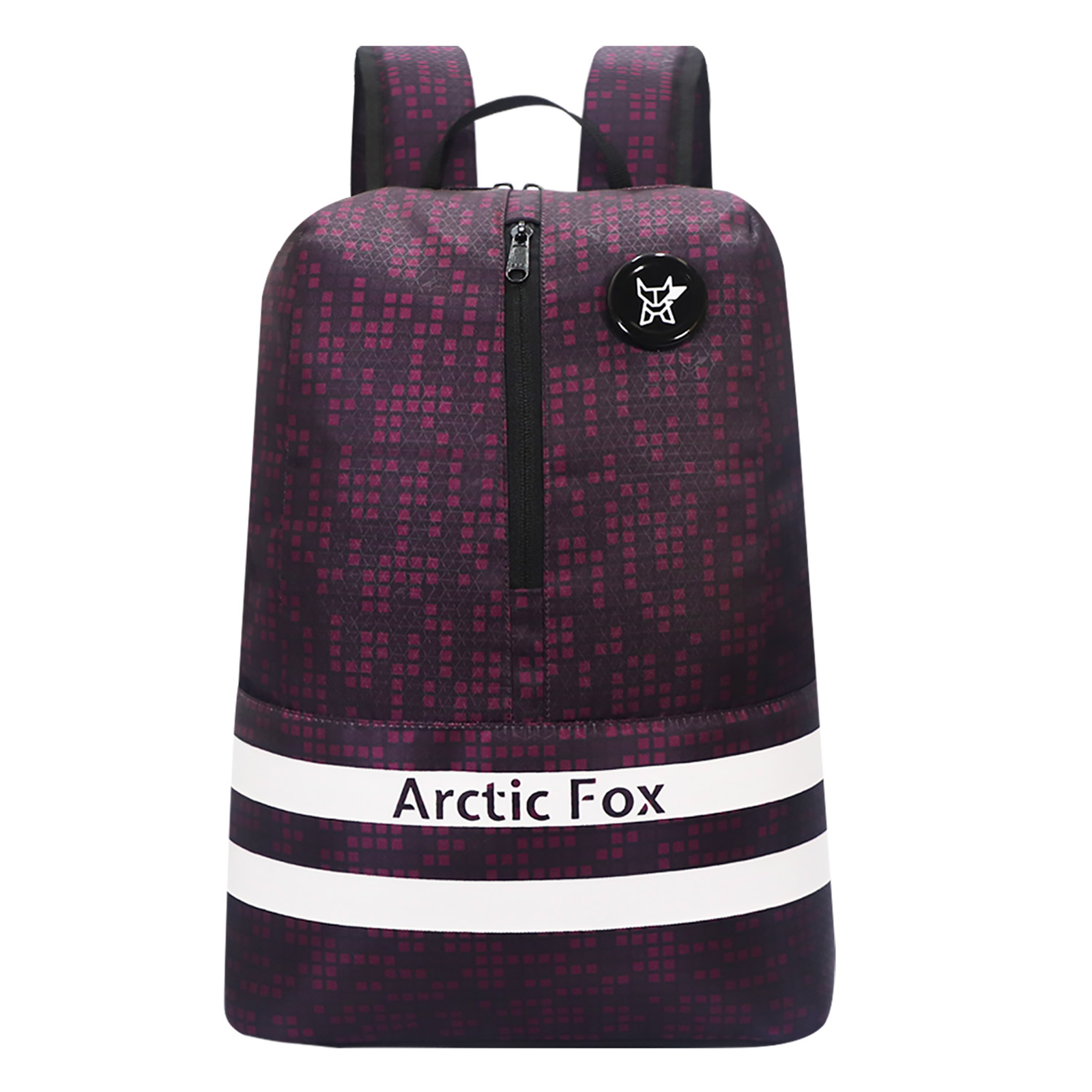 Arctic Fox Tuition 20 Litres PU Coated Polyester Backpack (1 Spacious Compartment, FTEBPKMARWZ028012, Maroon)_1