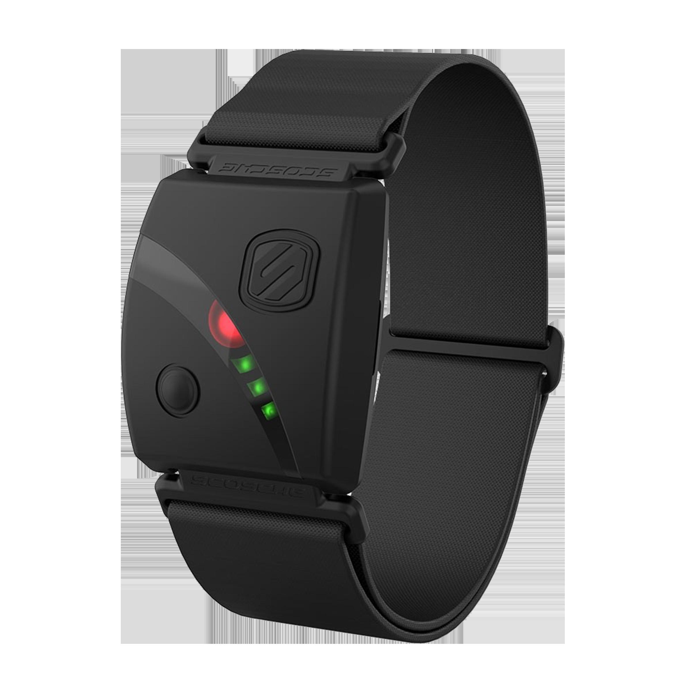 Scosche Health Monitor (Interconnected Armband Design, RTHM24-HF5, Black)_1