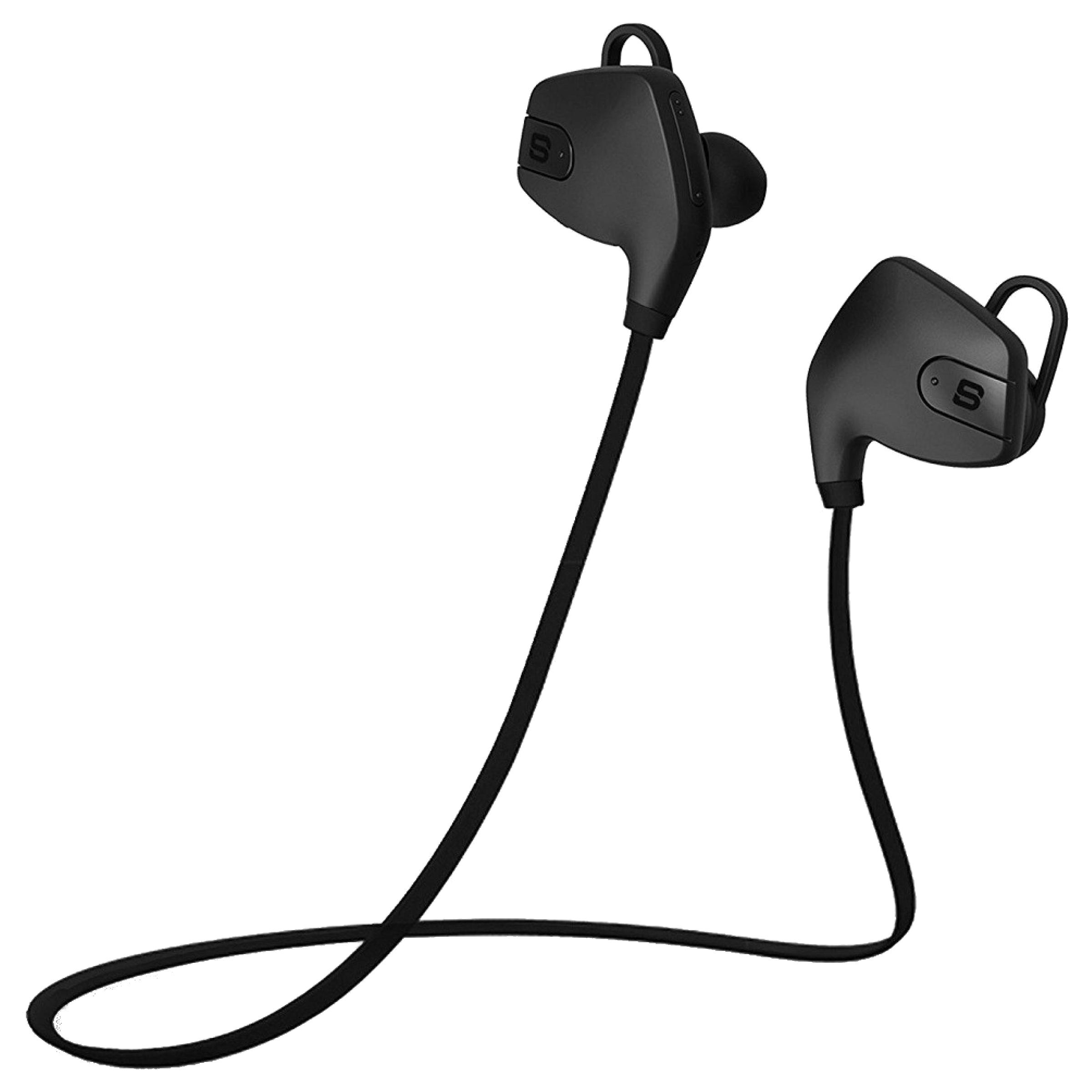 SoundBot In-Ear Wireless Earphone with Mic (Bluetooth 4.0, Water Resistant, SB565, Black)_1