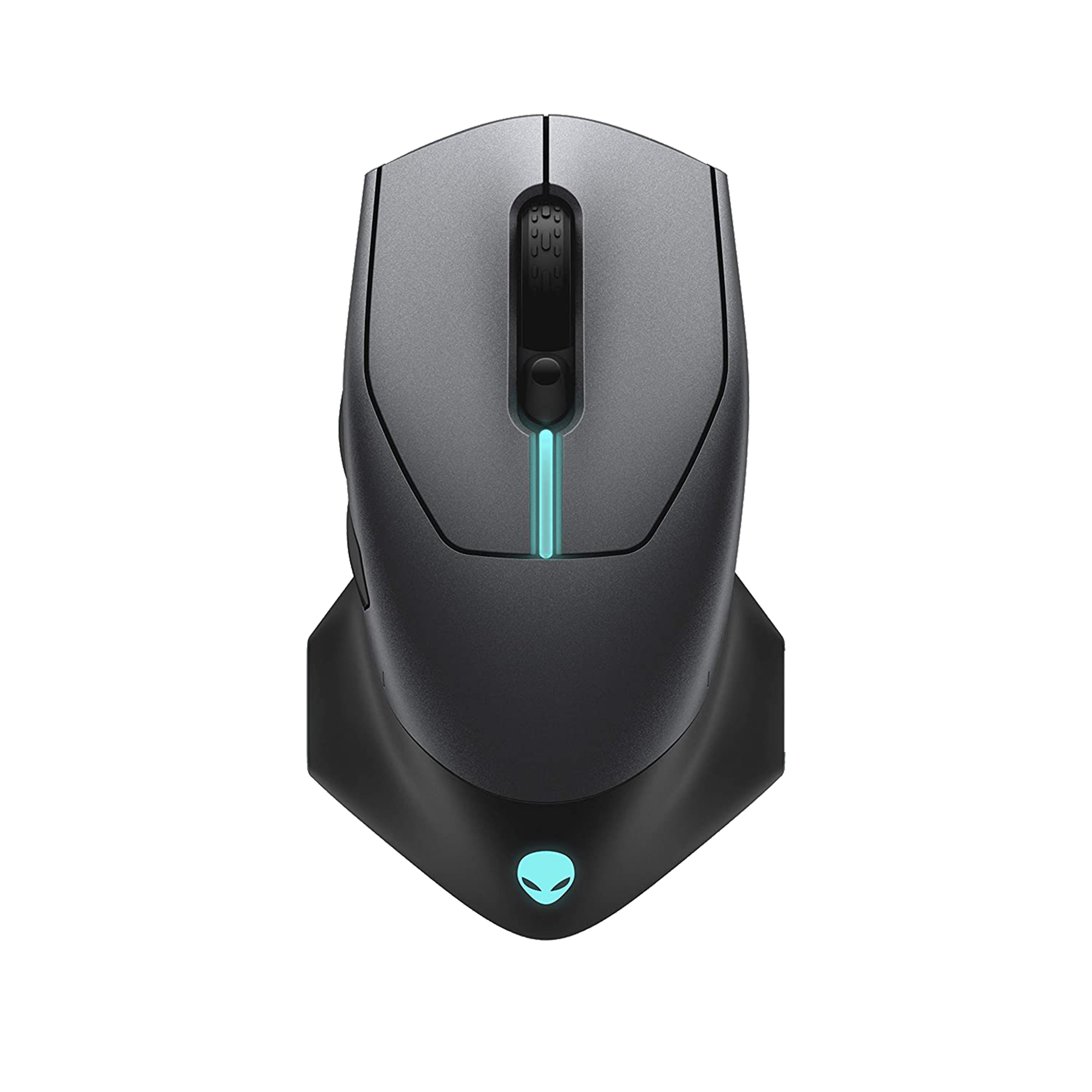 Dell Alienware Wired | Wireless | USB Optical Mouse (Auto-Calibration, AW610M, Dark side of the moon)_1