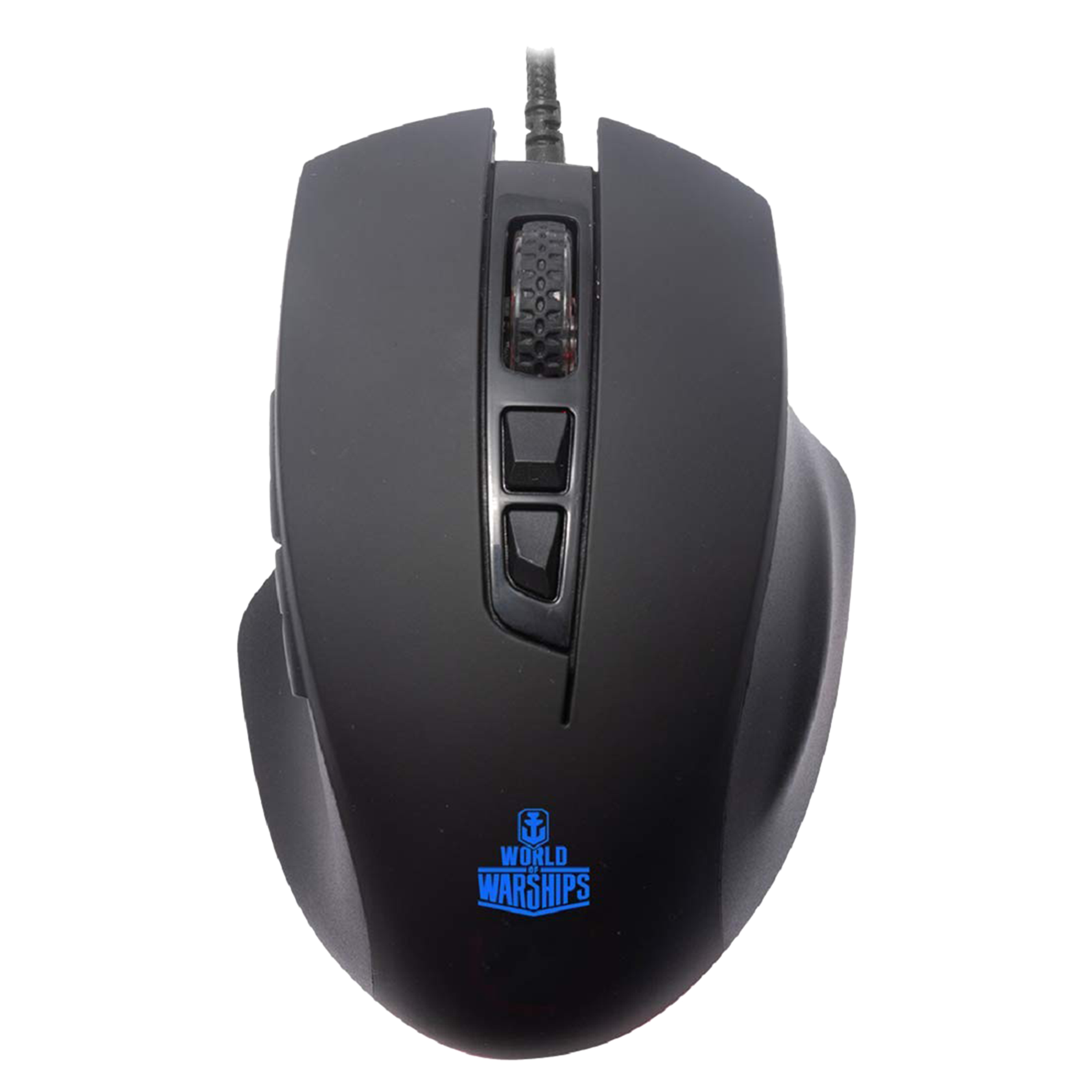 Ant E sports Wired | USB Optical Mouse (Adjustable DPI Buttons, GM200W, Black)_1