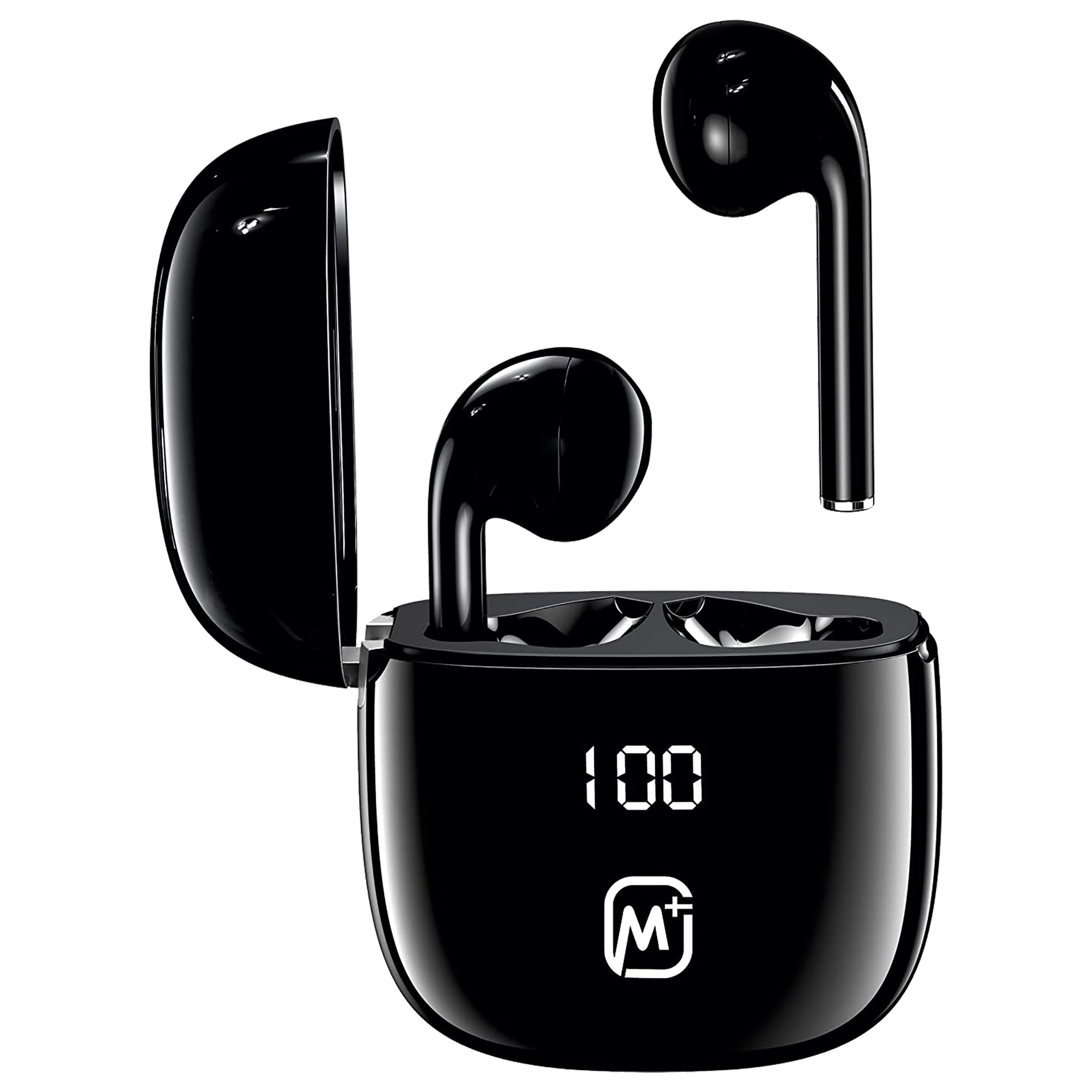MATATA In-Ear Active Noise Cancellation Truly Wireless Earbuds with Mic (Bluetooth 5.0, IPX4 Waterproof, MTTT28, Black)_1