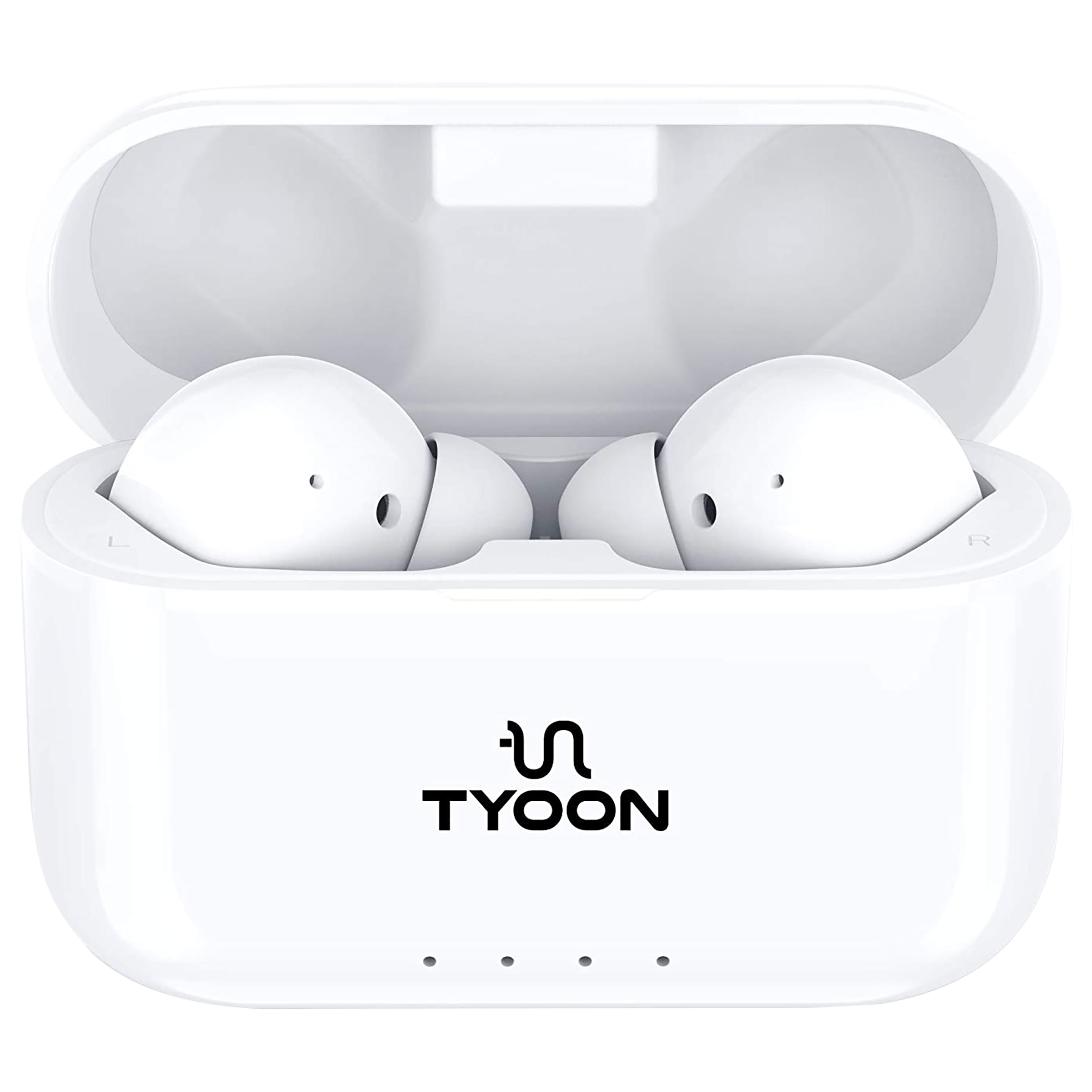 Tyoon In-Ear Truly Wireless Earbuds with Mic (Bluetooth 5.0, Embedded Microphone, Bud601, White)_1