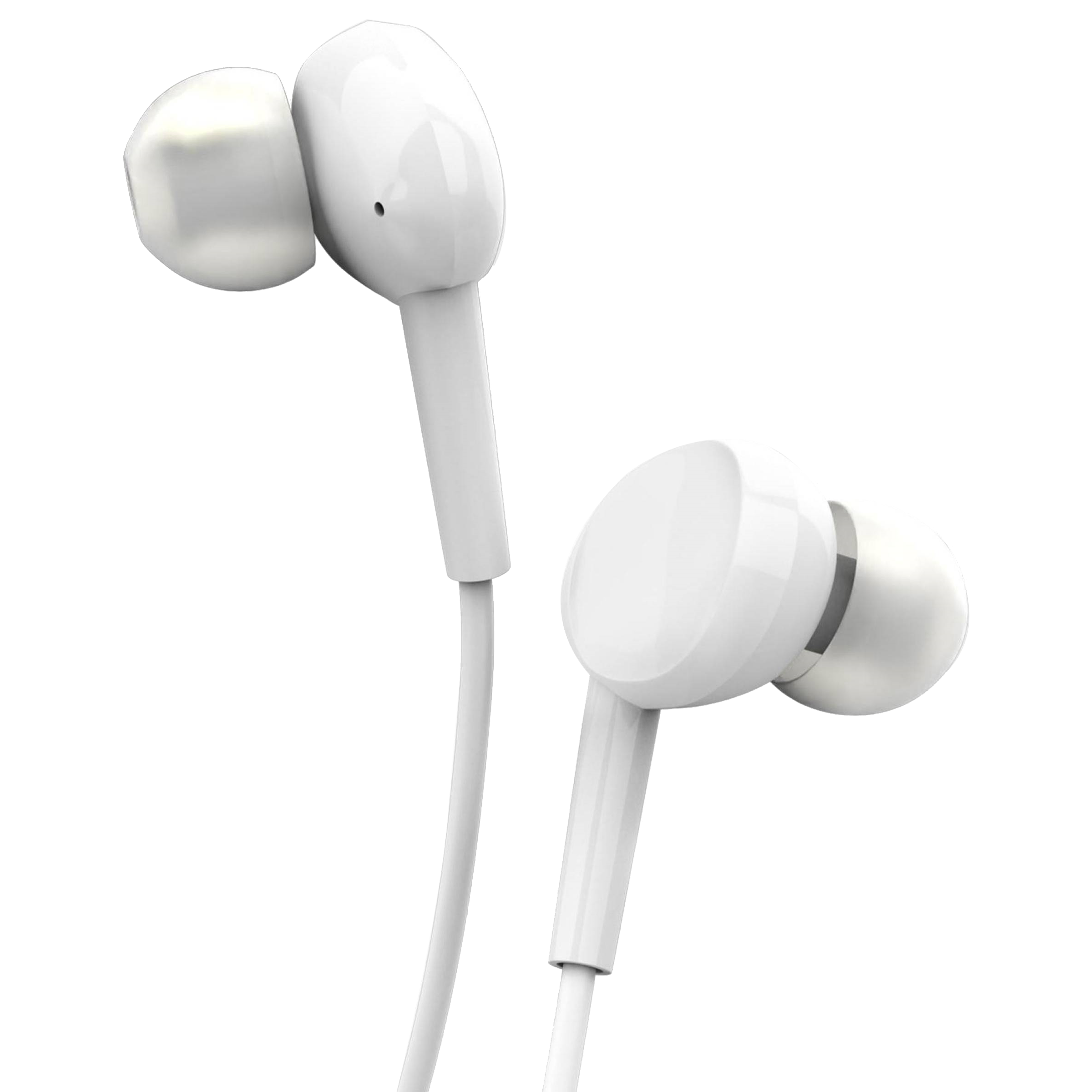 Gizmore GIZ In-Ear Wired Earphone with Mic (Hi-Fi Stereo Sound, ME314_WHT, White)_1