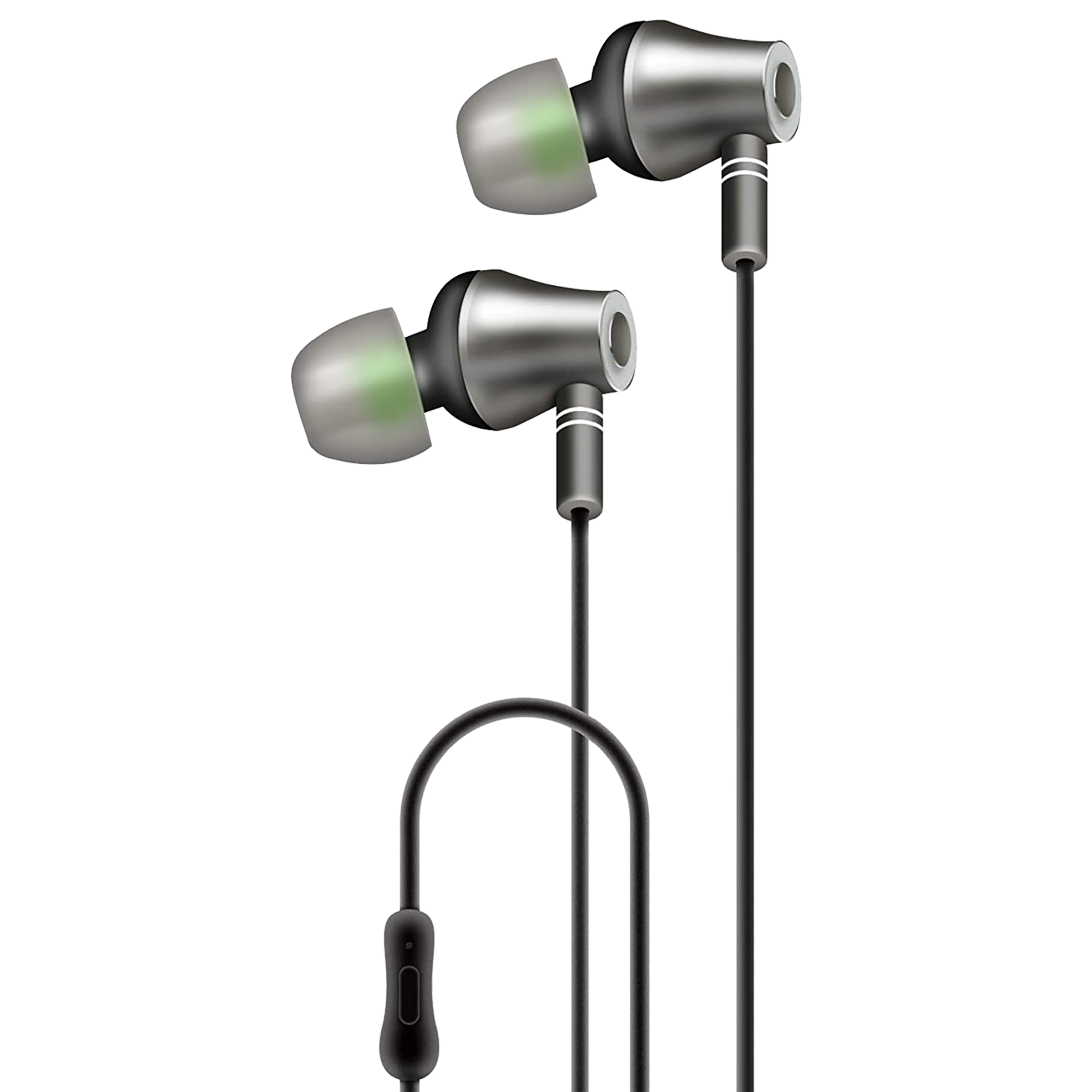 AT&T In-Ear Noise Isolation Wired Earphone with Mic (Google Assistant & Siri Supported, E10-BLK, Black)_1