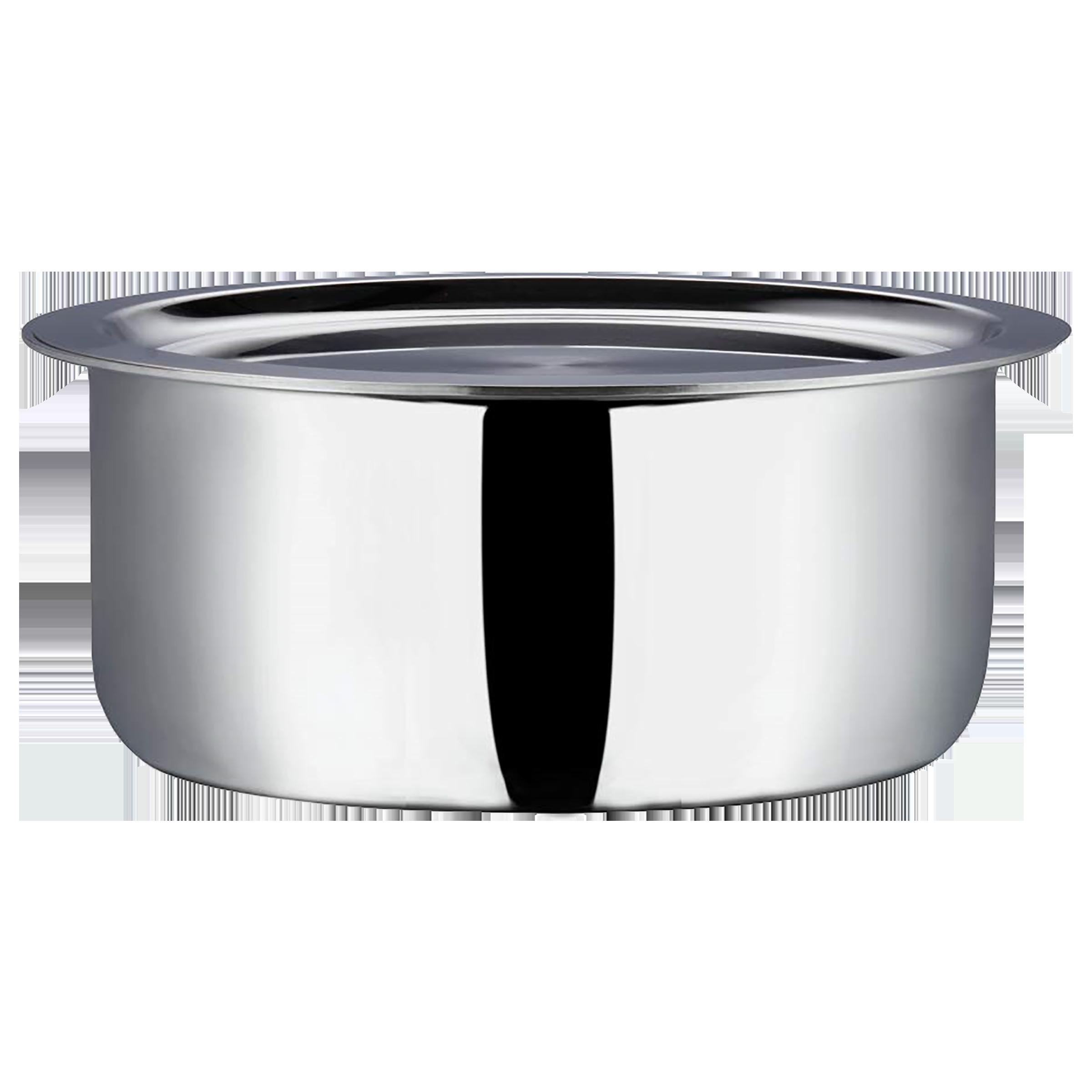 Vinod Cooking Pot (18/8 Stainless Steel Inside, PT22, Grey)_1