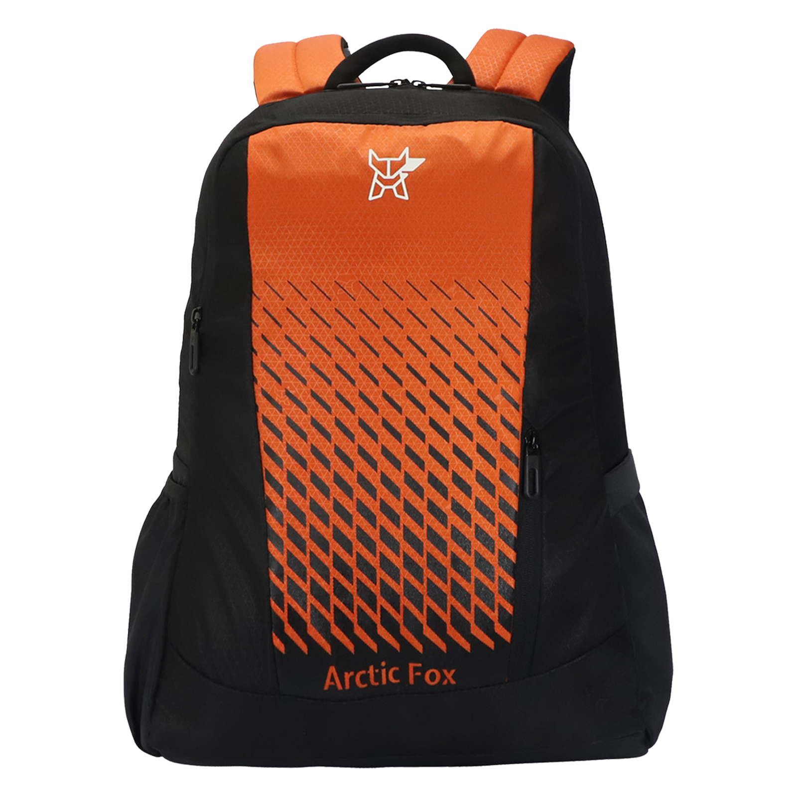 Arctic Fox Grill 28.5 Litres PU Coated Polyester Backpack (2 Spacious Compartments, FTEBPKRORON061029, Red Orange)_1