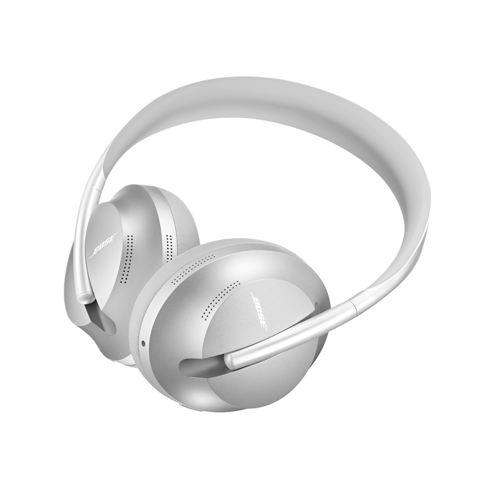 Bose Noise Cancelling Bluetooth Headphones (700, Sliver Luxe)_1