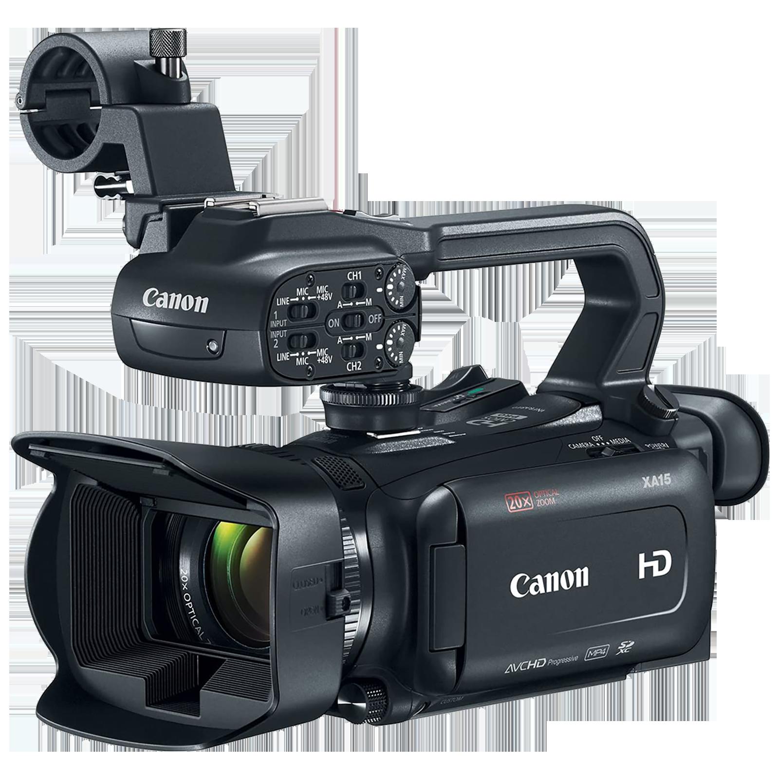 Canon XA15 2.91 MP Camcorder (20x Optical Zoom, Dynamic Image Stabilization, 2217C003-C02, Black)_1