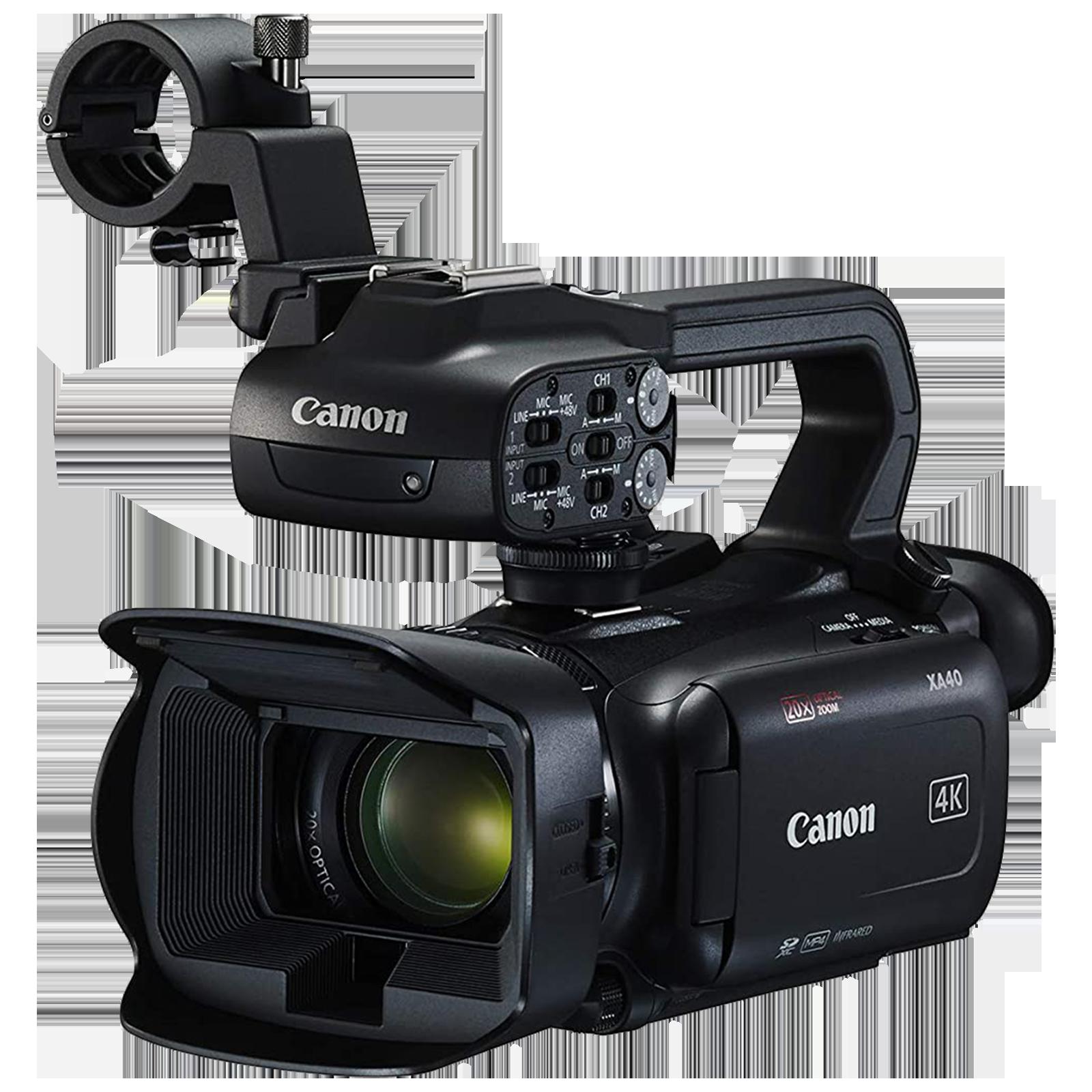 Canon XA40 8.29 MP Camcorder (20x Optical Zoom, LCD Touchscreen, 3666C003-C01, Black)_1