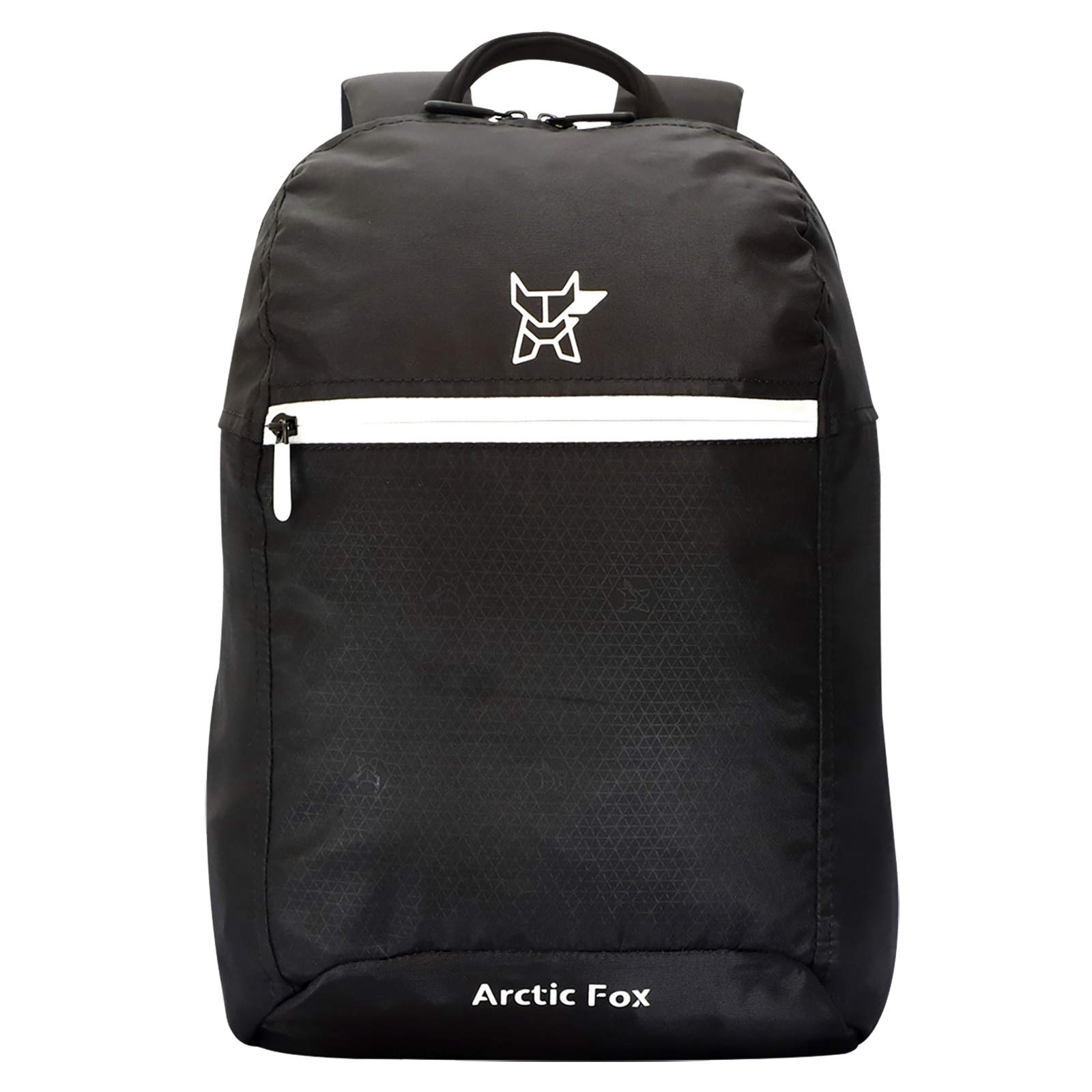 Arctic Fox Tuition 17 Litres PU Coated Polyester Backpack (FMIBPKBLKON003017, Black)_1
