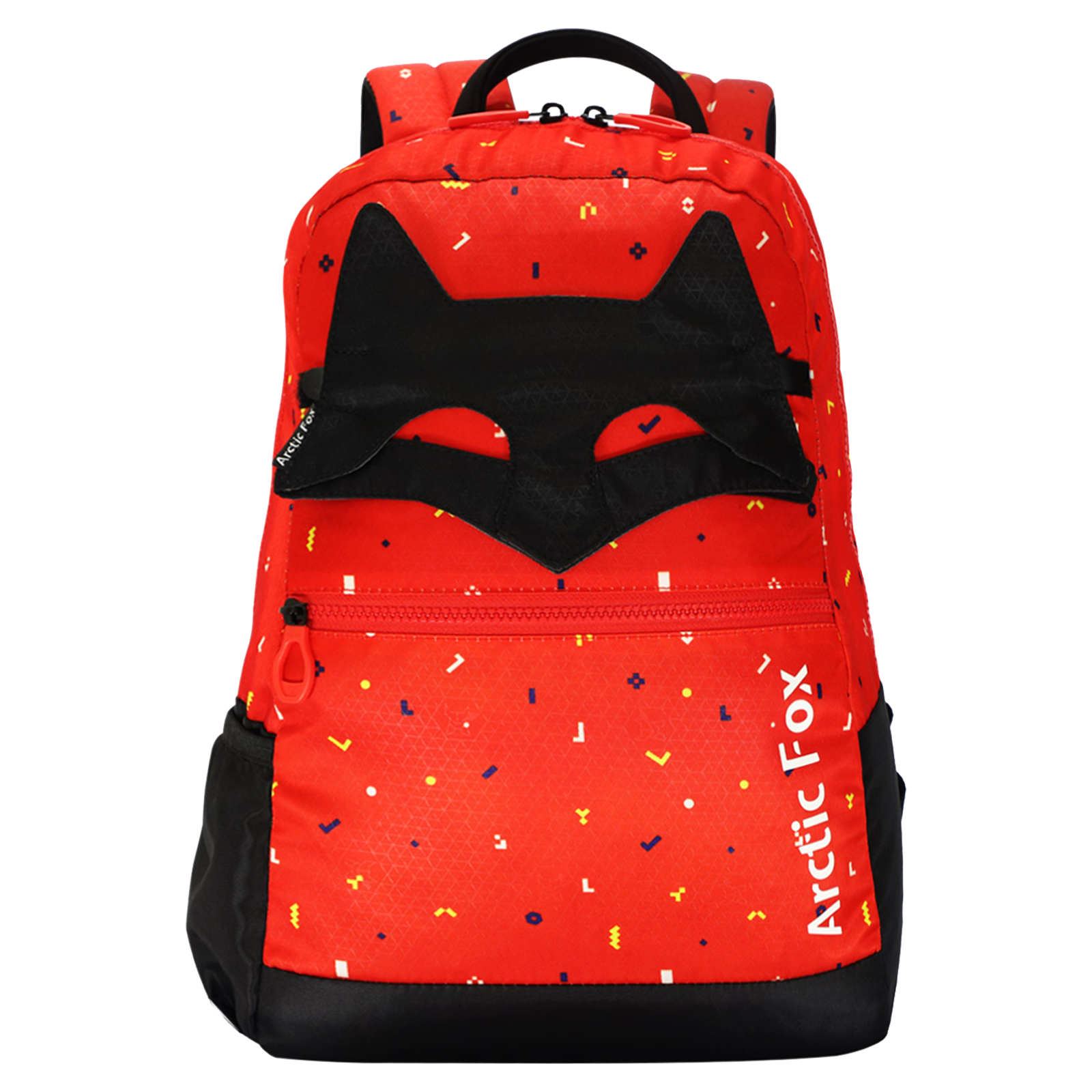 Arctic Fox Mask 17 Litres PU Coated Polyester Backpack (FKIBPKFIRON004017, Red)_1