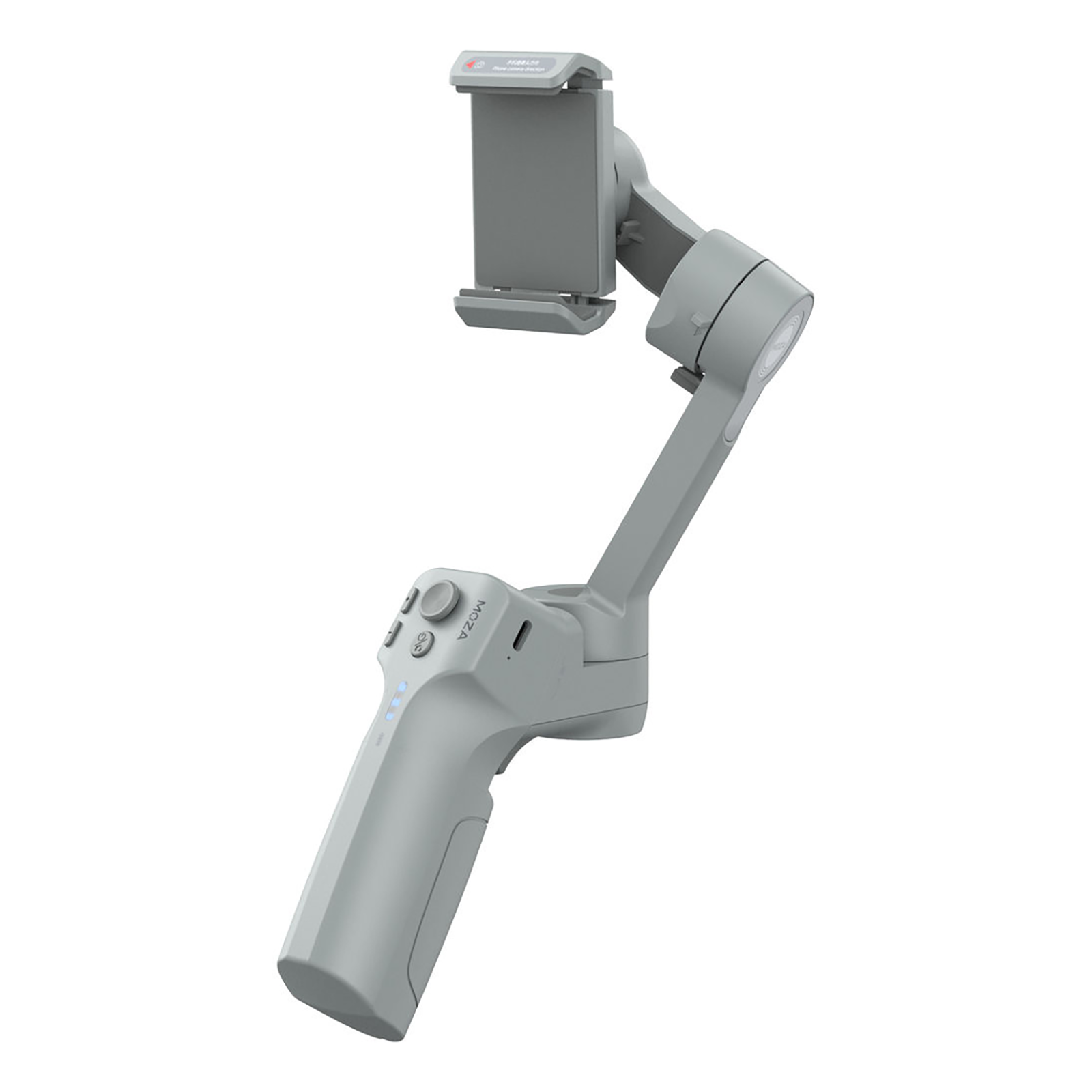 Moza Mini MX Gimbal (Up to 20-Hour Battery Runtime, Grey)_1