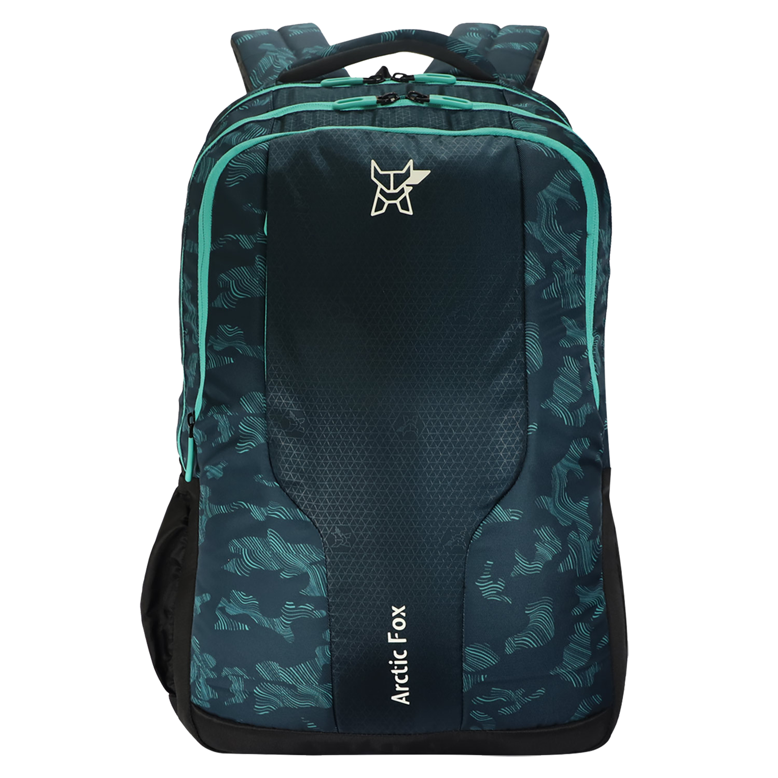 Arctic Fox Tribe 37 Litres PU Coated Polyester Backpack (2 Spacious Compartments, FTEBPKATLON075037, Atlantis)_1