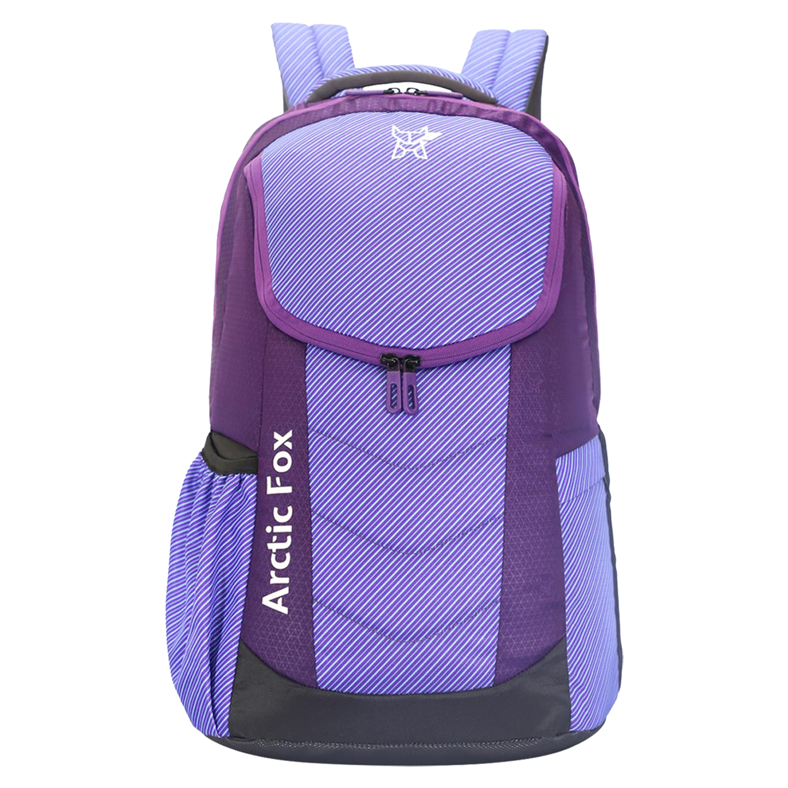 Arctic Fox Combat 37 Litres PU Coated Polyester Backpack (3 Spacious Compartments, FTEBPKPETON072037, Petunia Purple)_1