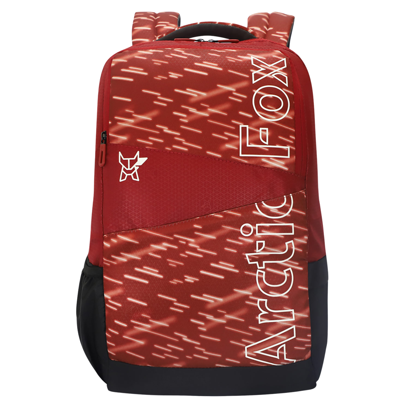 Arctic Fox Metrolite 32.5 Litres PU Coated Polyester Backpack (2 Spacious Compartments, FTEBPKRDLON081033, Red)_1
