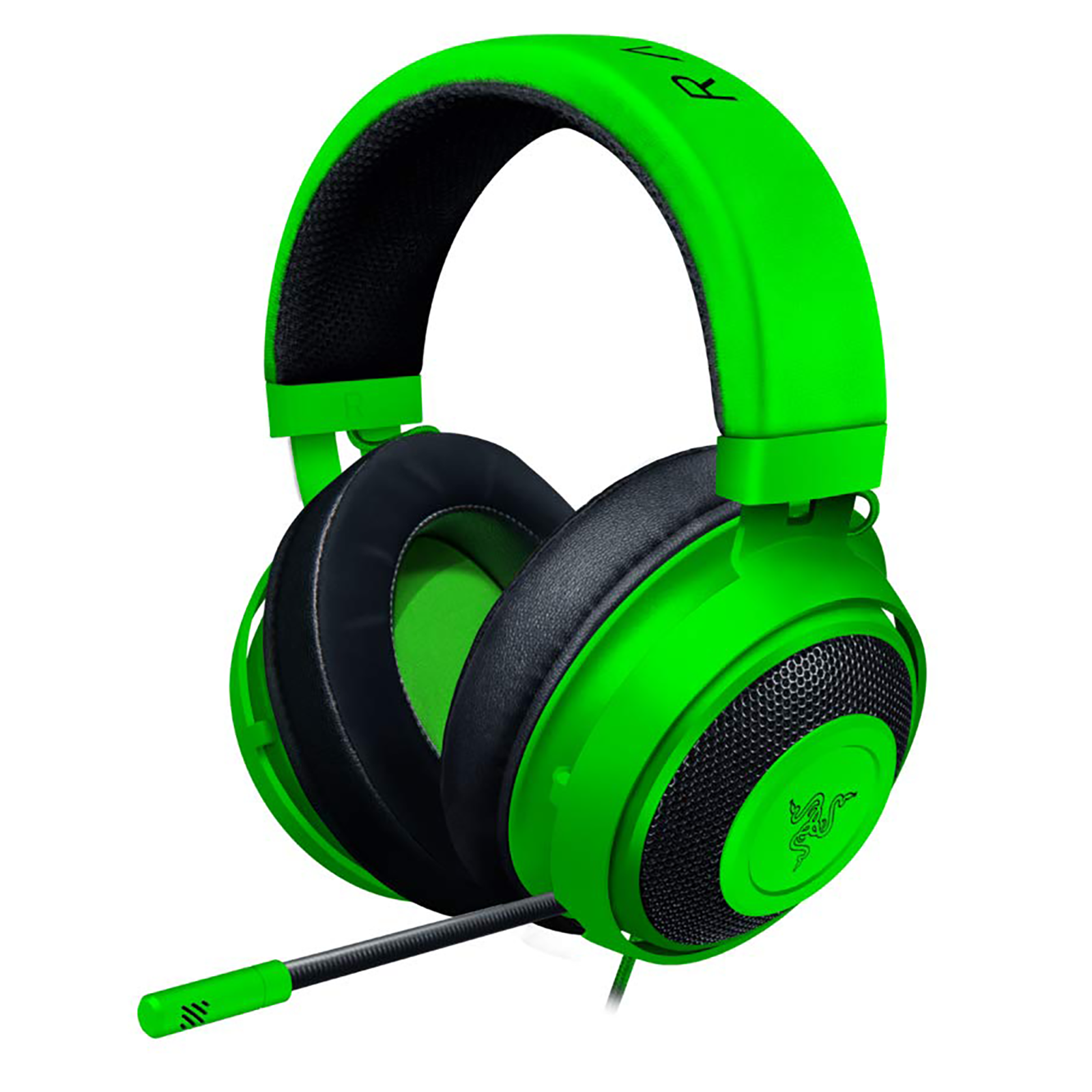 Razer Kraken Over-Ear Wired Gaming Headset with Mic (Clear & Powerful Sound, RZ04-02830200-R3M1, Green)_1