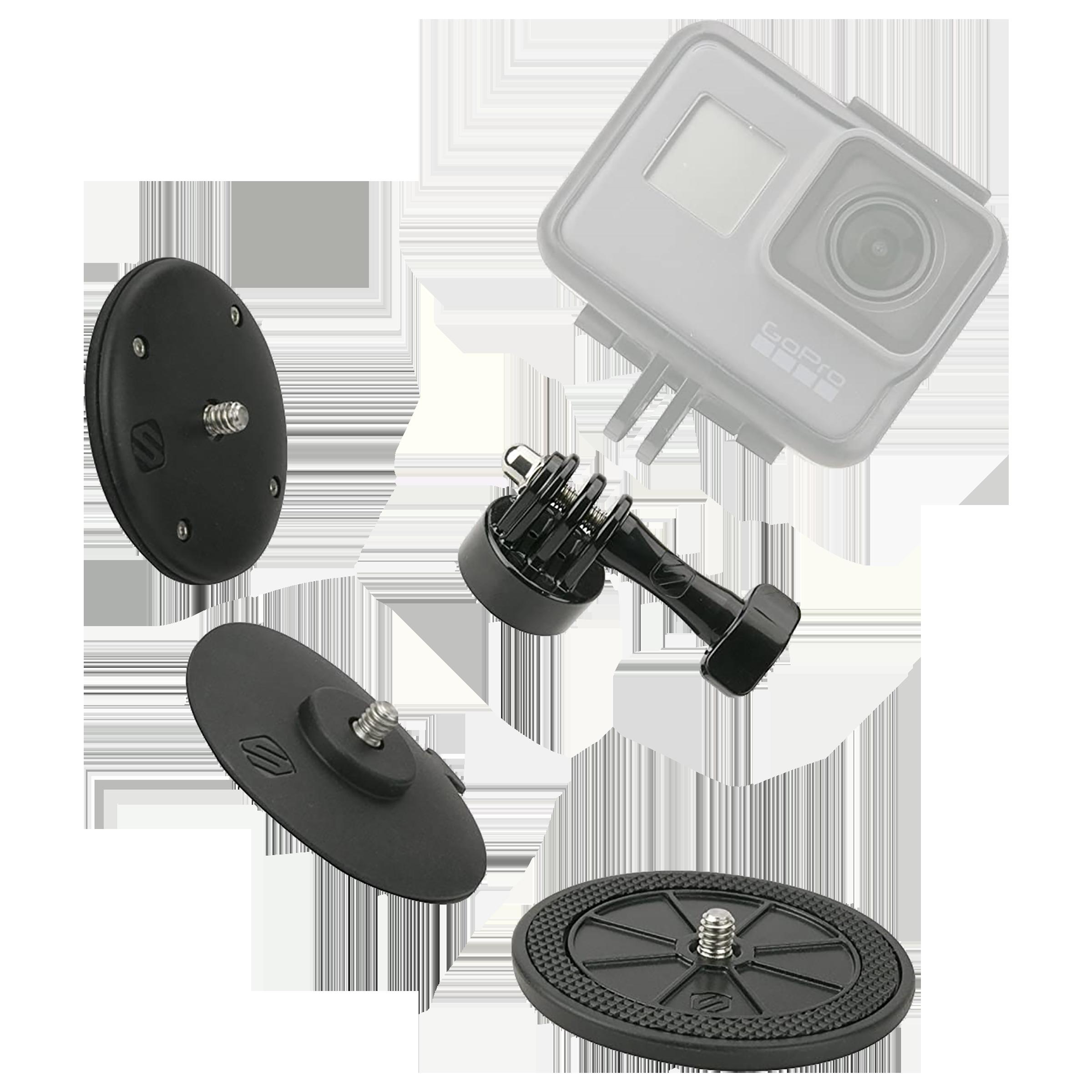Mounts - Scosche AMK1 Mounting Kit For DSLR Camera (Water Resistant, 0266AMK1, Black)_1