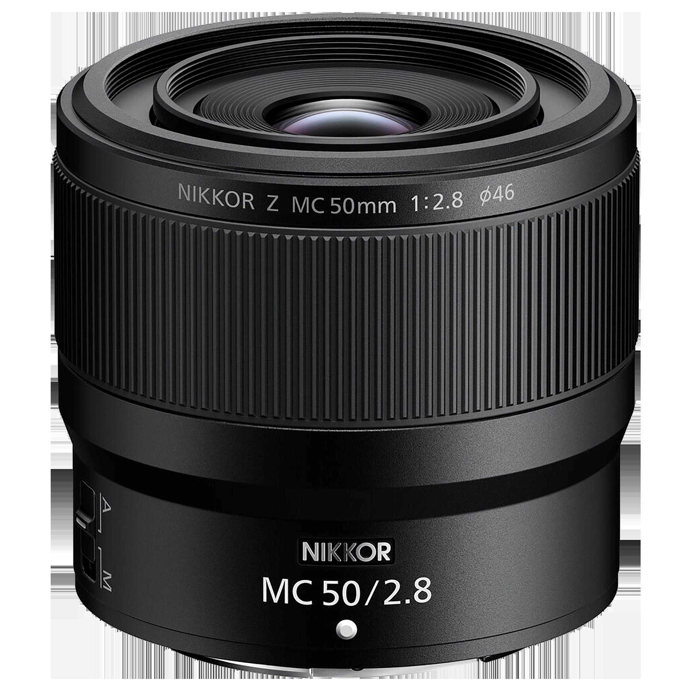 Lens - Nikon Nikkor Z MC 50mm f/2.850 mm F22-F2.8 Macro Lens (1:1 Magnification, JMA603DA, Black)_1