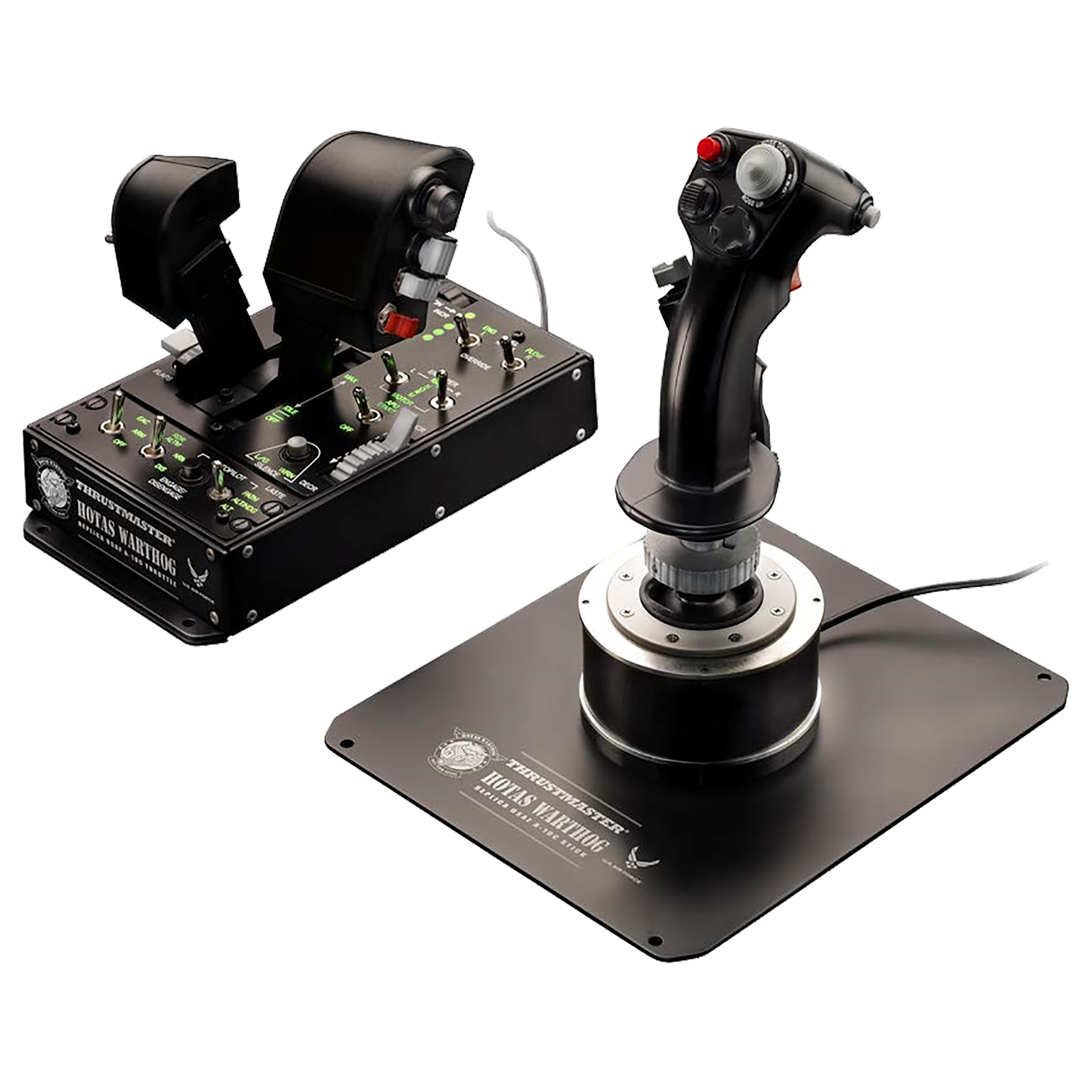 Thrustmaster Hotas Warthog PC Joystick For PC (19 Action Buttons, Black)_1