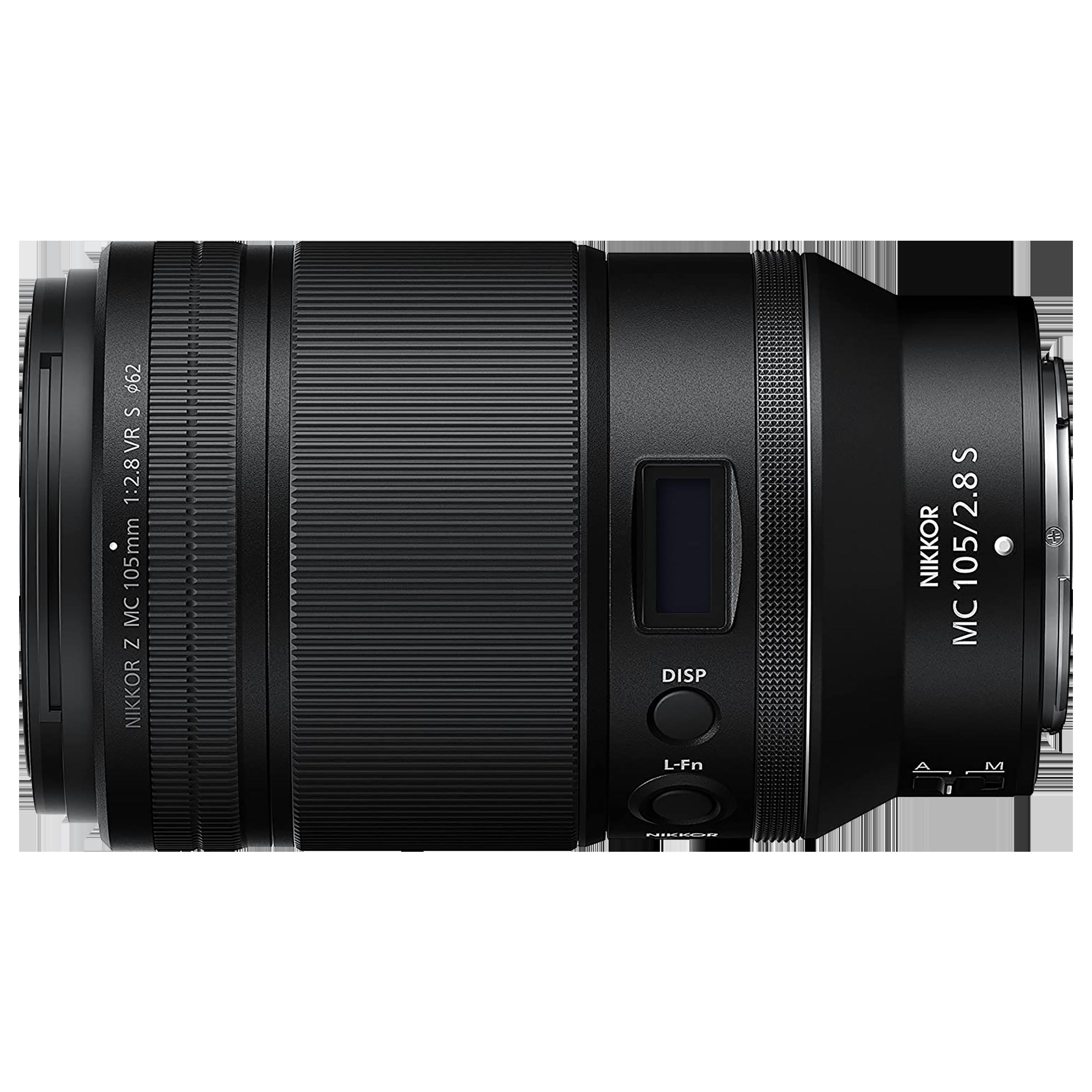 Lens - Nikon Nikkor Z MC 105mm f/2.8 VR S105 mm F32-F2.8 Macro Lens (1:1 Magnification, JMA602DA, Black)_4