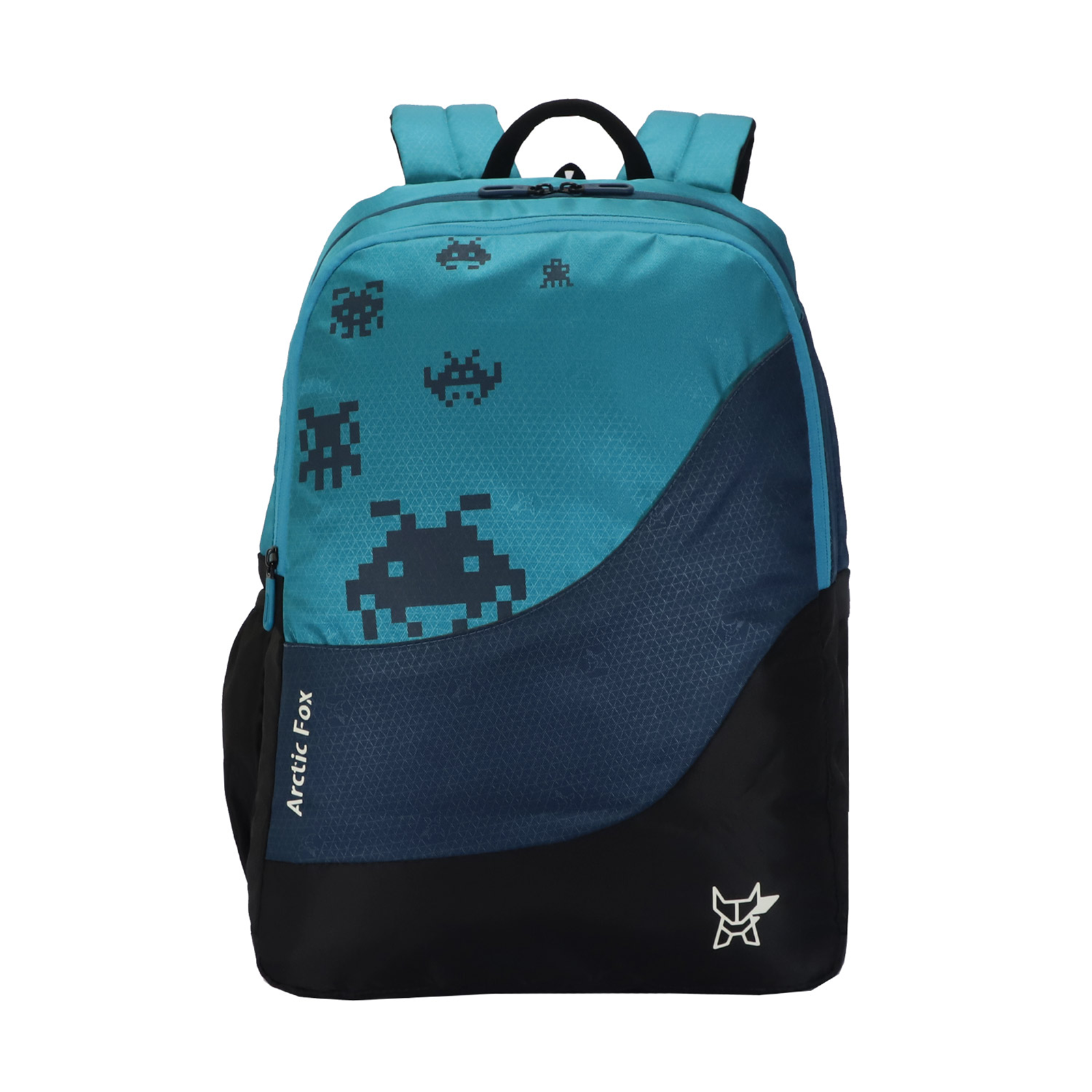 Arctic Fox Mario 31.5 Litres Polyester Backpack (Padded Shoulder Straps, FJUBPKCSEON048032, Caribbean Sea)_1