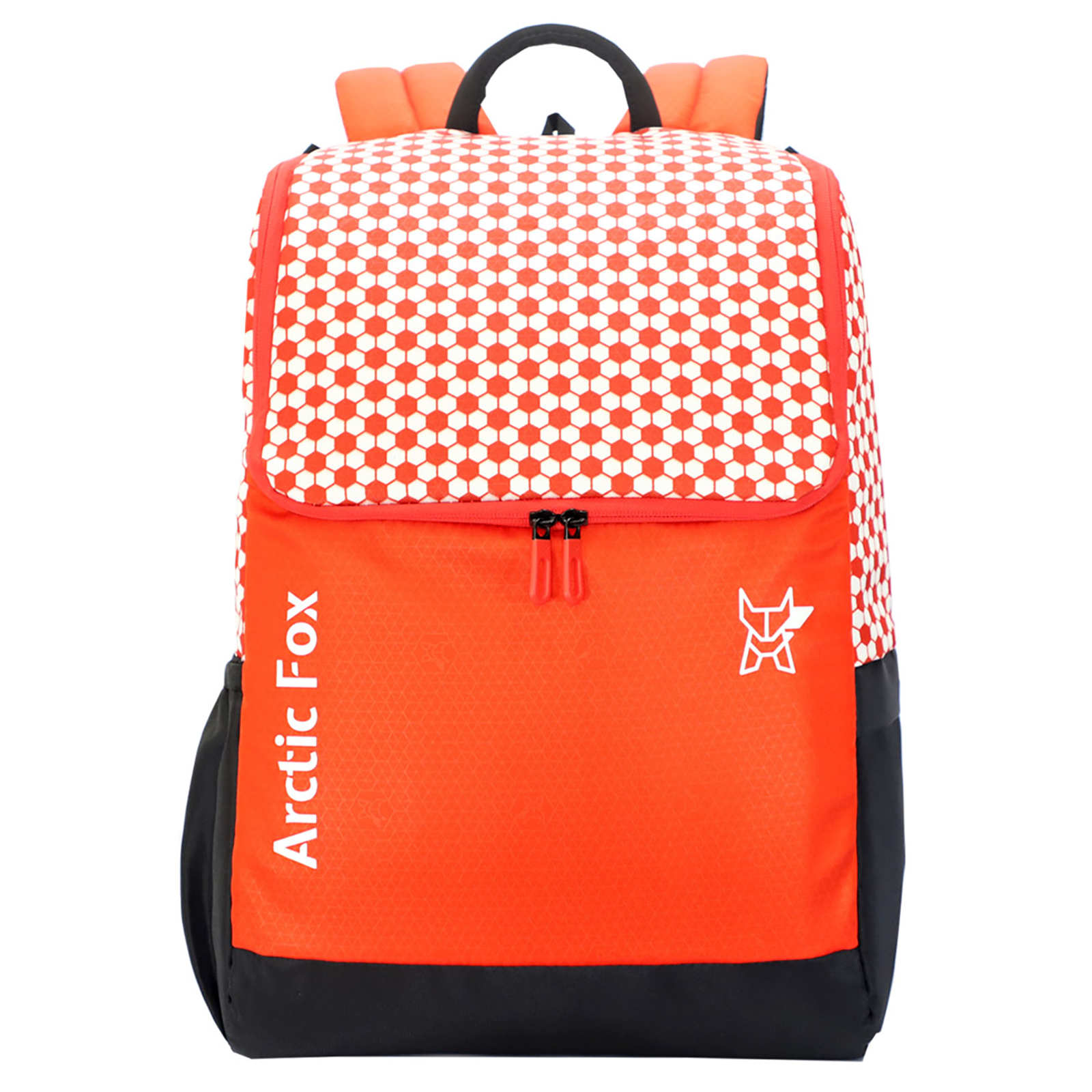 Arctic Fox Goal 20 Litres Polyester Backpack (SBS Branded Zippers, FJUBPKFIRON050020, Fiery Red)_1