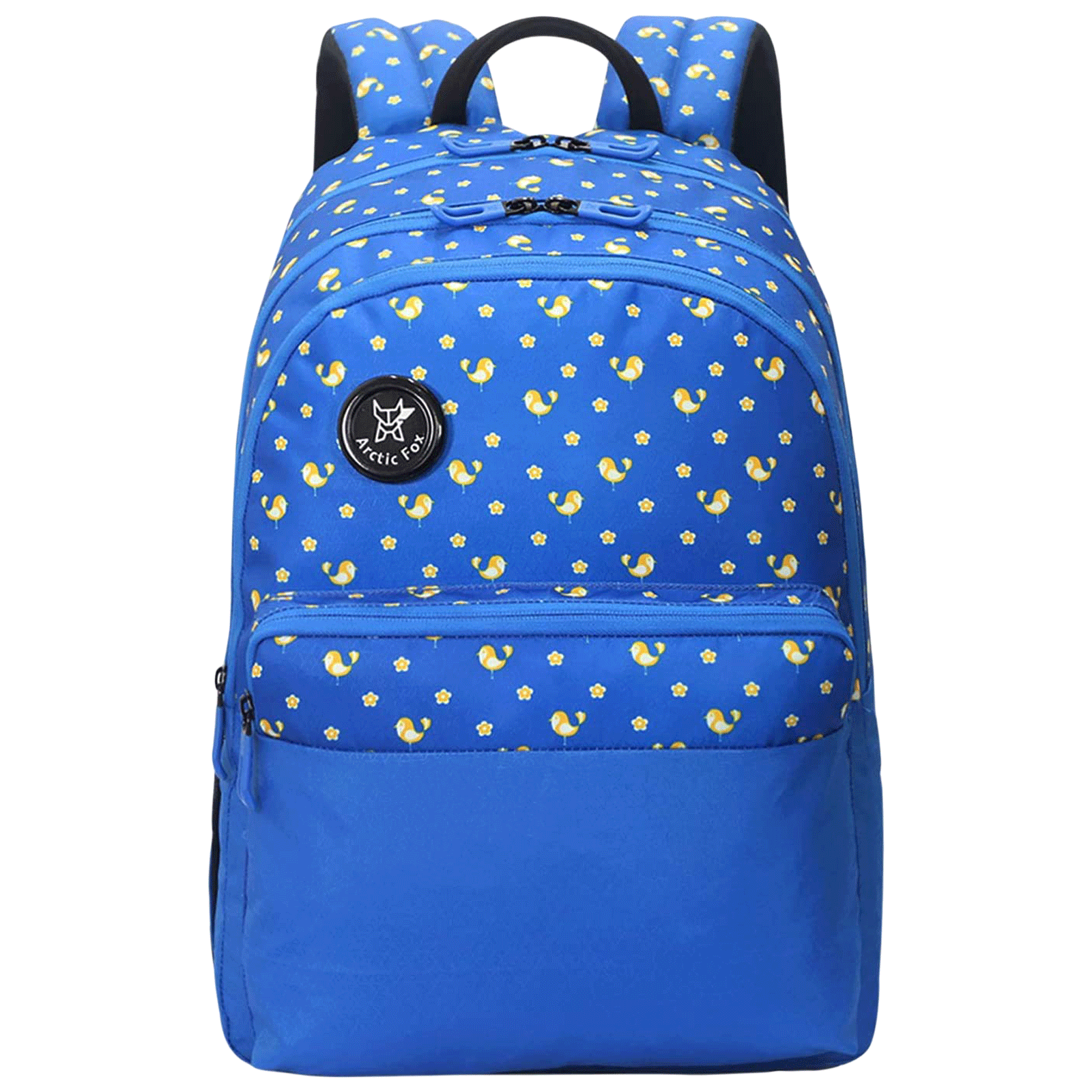 Arctic Fox Spring 23 Litres PU Coated Polyester Backpack (3 Spacious Compartments, FJUBPKDTBWZ067023, Directorie Blue)_1