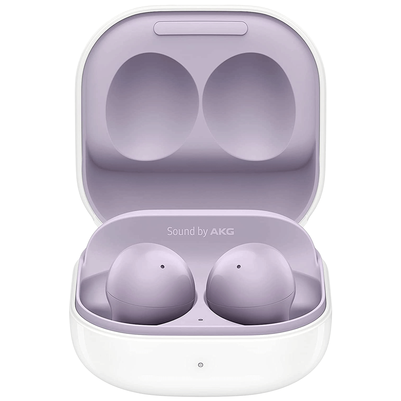 Samsung Galaxy Buds2 In-Ear Truly Wireless Earbuds with Mic (Bluetooth 5.2, Active Noise Cancellation, SM-R177NLVAINU, Stylish Lavender)_1