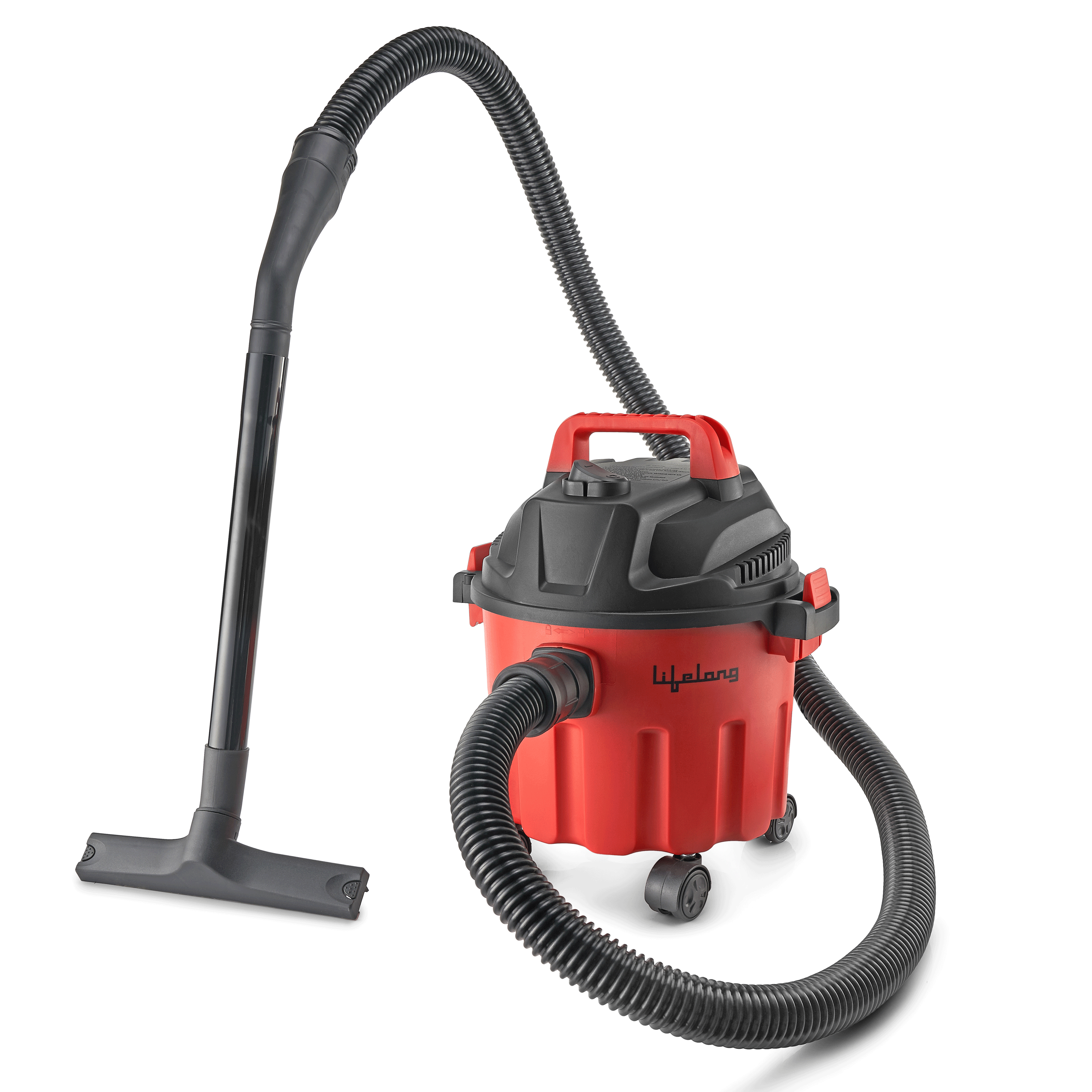 Lifelong Aspire 1000 Watts Wet & Dry Vacuum Cleaner (10 Litres, LLVC10, Red)_1