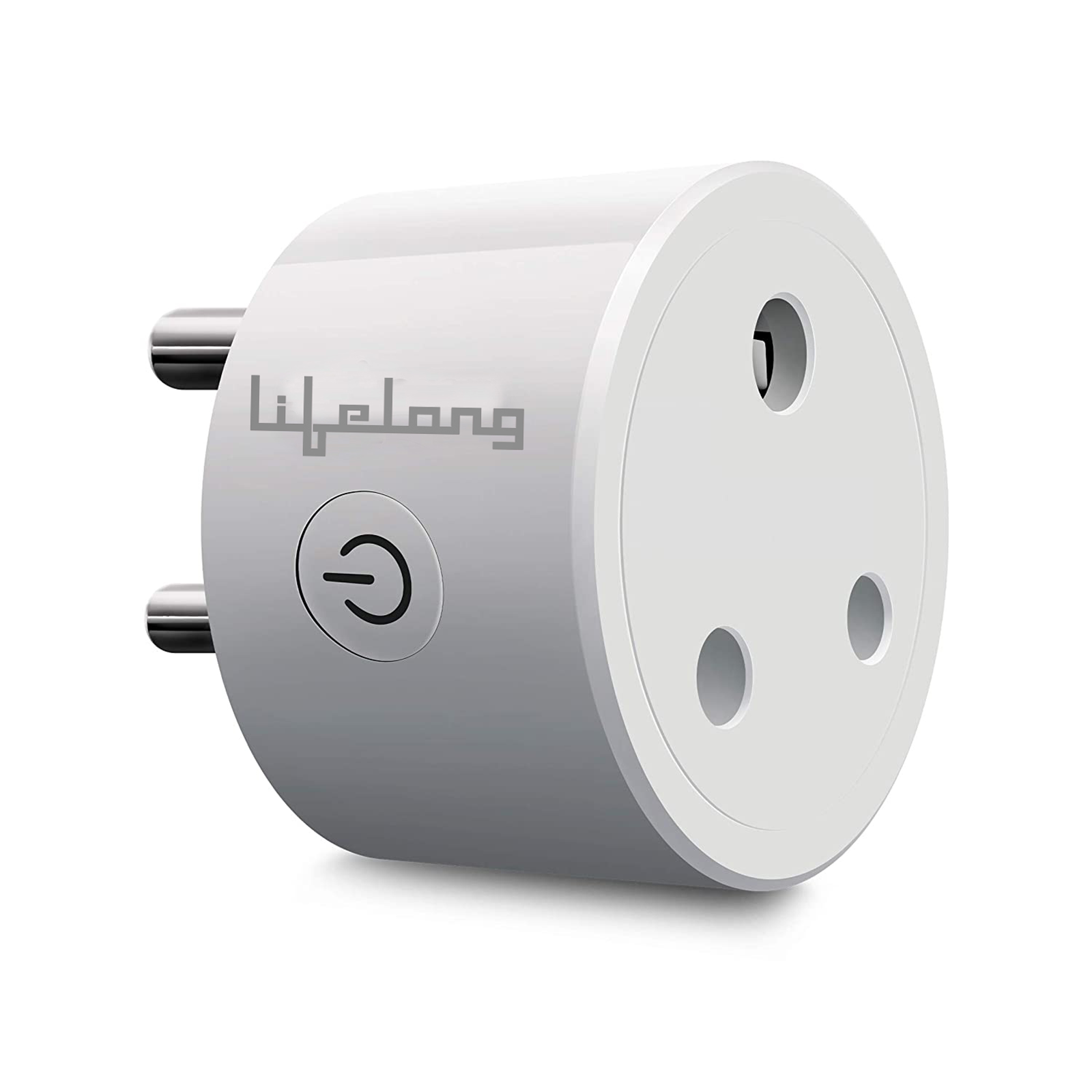 Lifelong Alexa and Google Assistant Supported Smart Plug For Home Appliances (Flame Retardant Materials, LLSP16A, White)_1