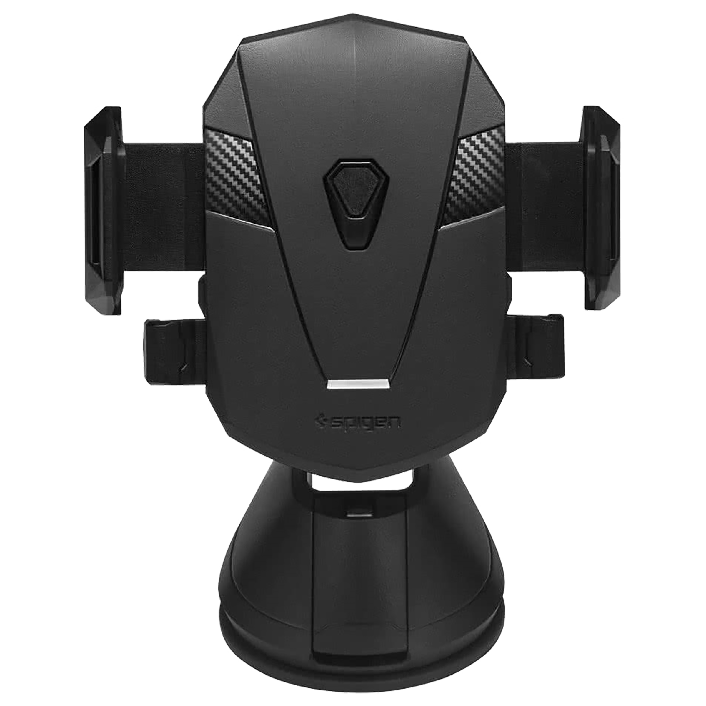 Spigen Windshield   Dashboard Mobile Holder (Optimum Viewing, 000CG21159, Black)_1
