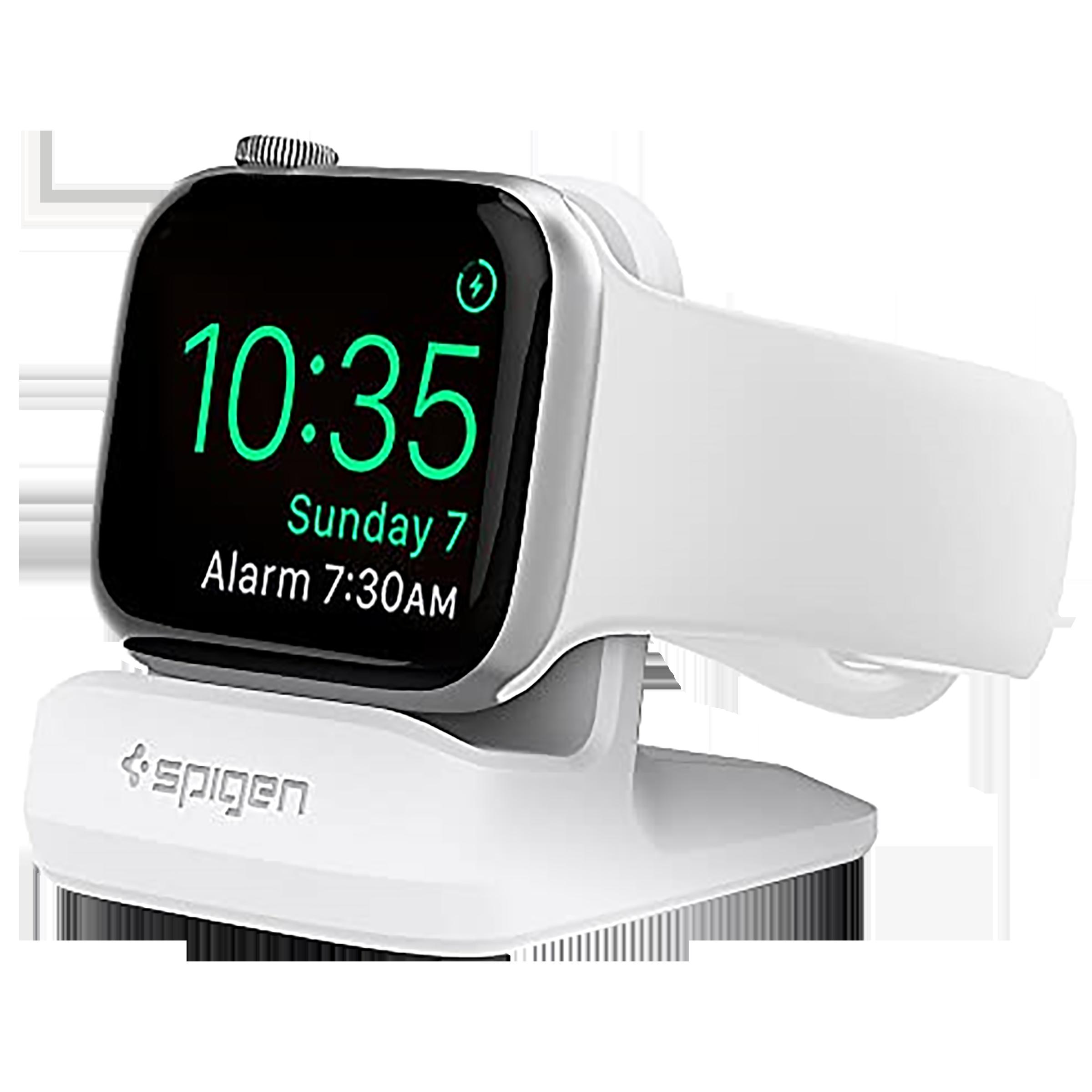 Spigen Night Stand Dock For Apple Watch Series (000CD21181, White)_1
