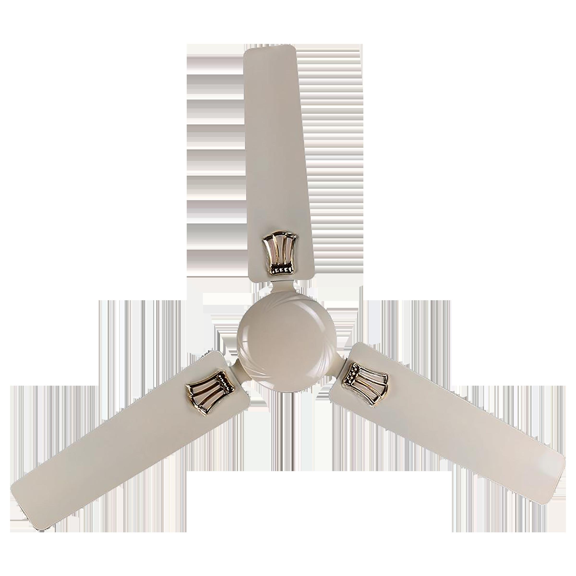 Rico 140 cm Sweep 3 Blade Ceiling Fan (Dust Resistant, CF810, White)_1