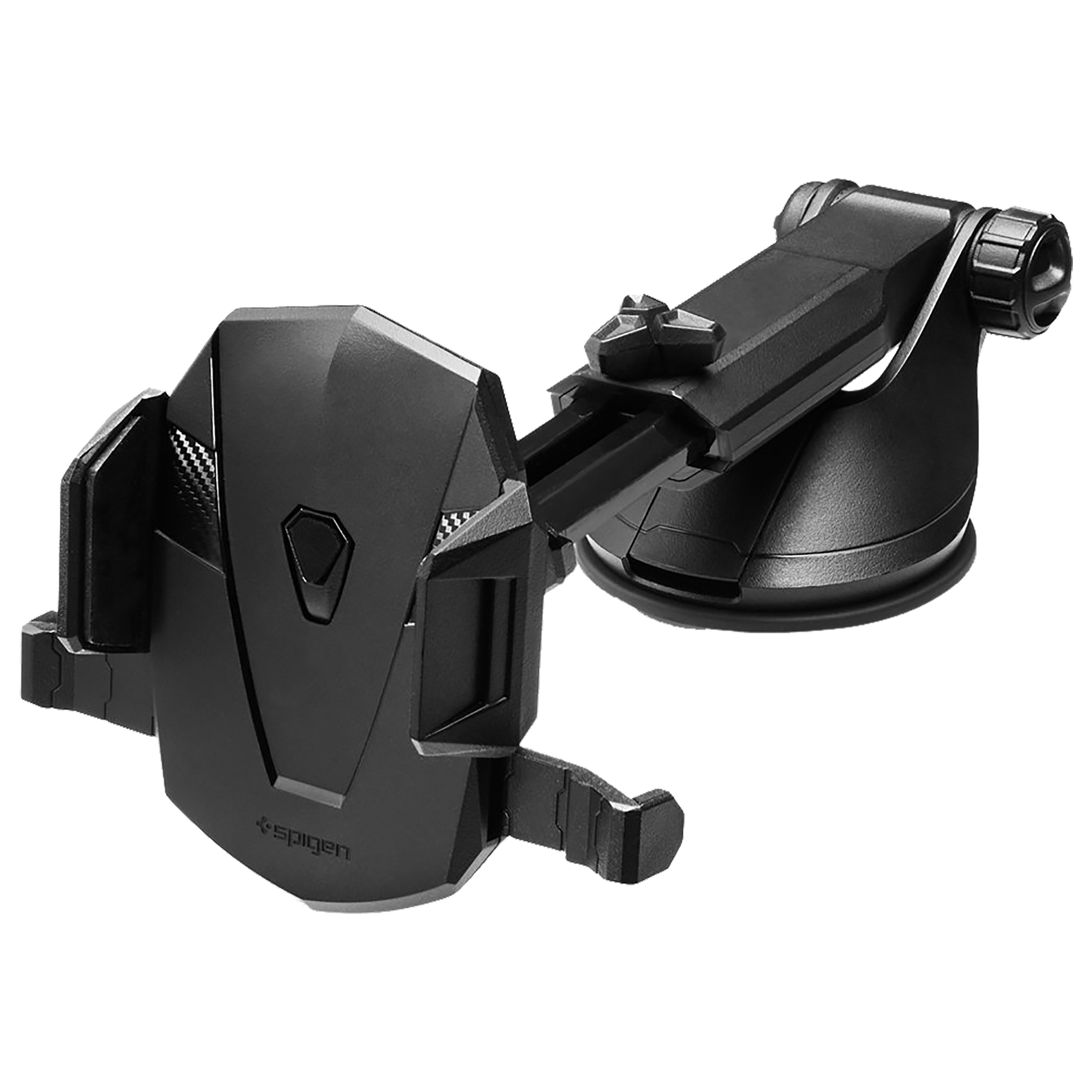 Spigen Dashboard Mobile Holder (Telescopic Arm, 000CG20917, Black)_1