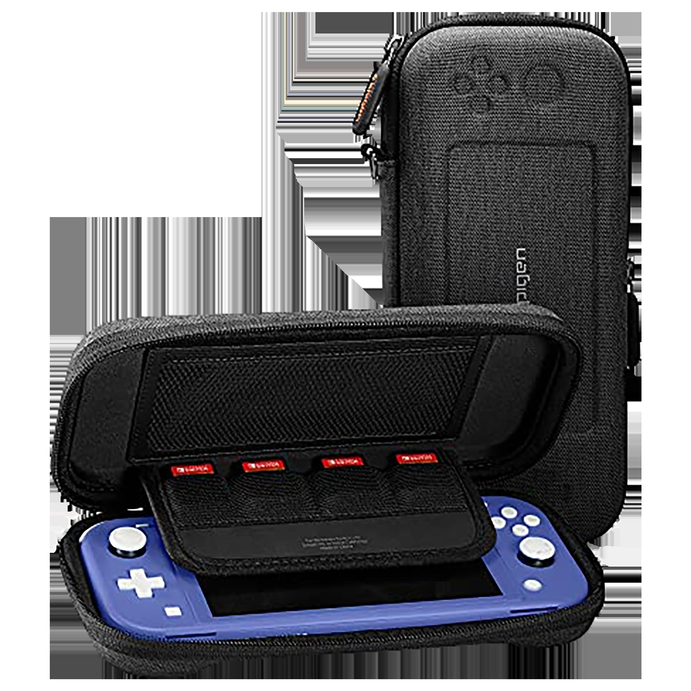 Spigen Klasden Full Cover Case For Nintendo Switch Lite (2019) (Lightweight, AFA00865, Charcoal Grey)_1