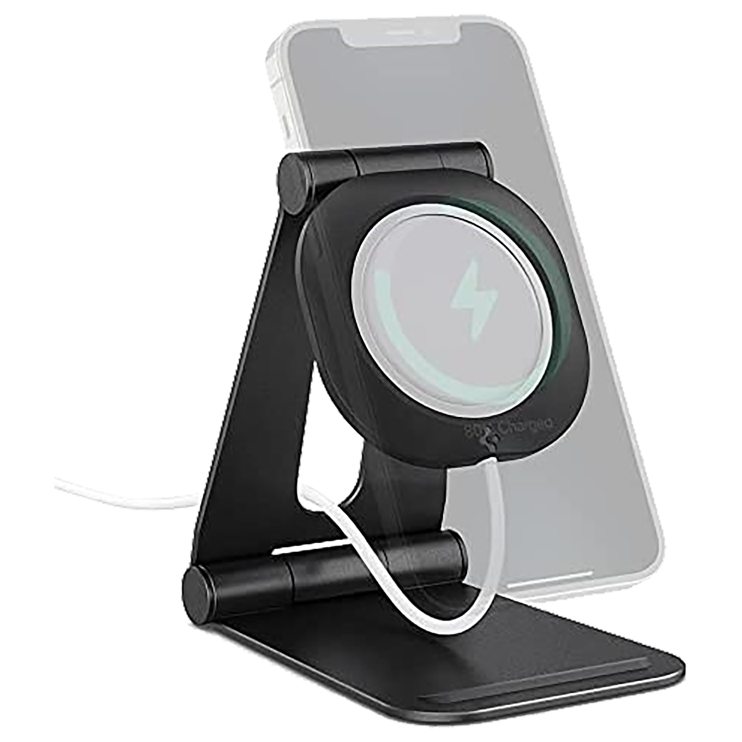 Spigen Stand For Smartphones - MagSafe Compatible (Adjustable Mounting Piece, AMP02672, Black)_1