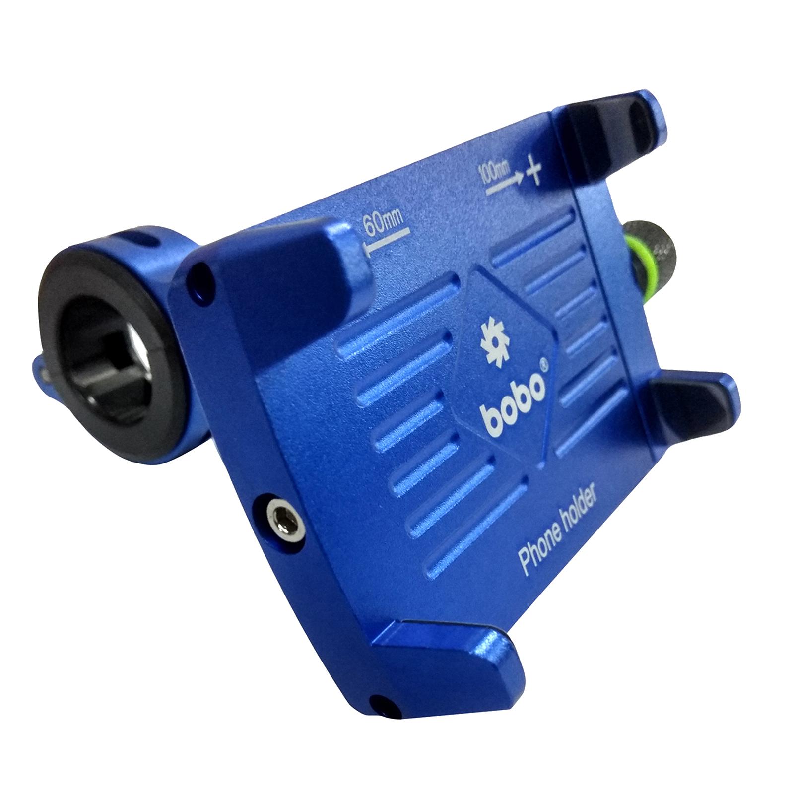 Bobo BM3 Claw-Grip Aluminium Mounting Kit For Bike (Anti-Slip Silicon Pad, BB-BM-003-001003, Blue)_1