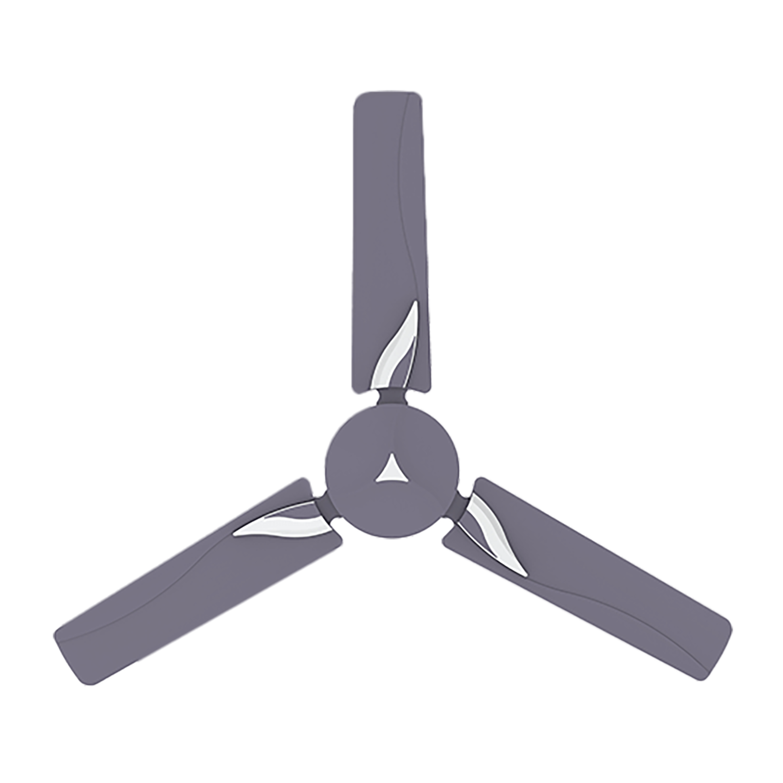 Crompton Modern Leaf 120cm 3 Blade Ceiling Fan (CFHSMLF48PGR, Pastel Grape)_1