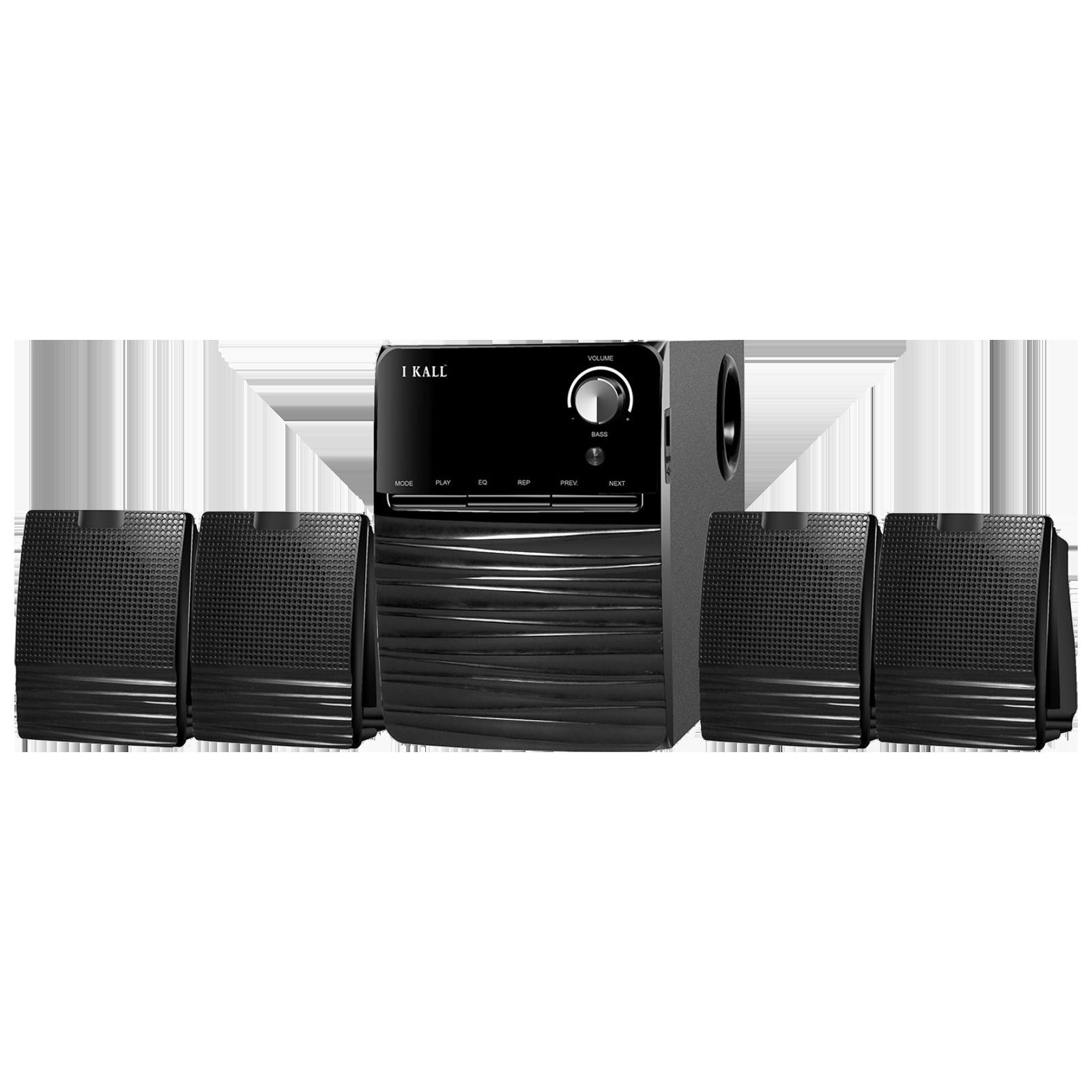 I KALL 4.1 Channel 60 Watts Standard Home Theatre System (Bluetooth, IK-403, Black)_1
