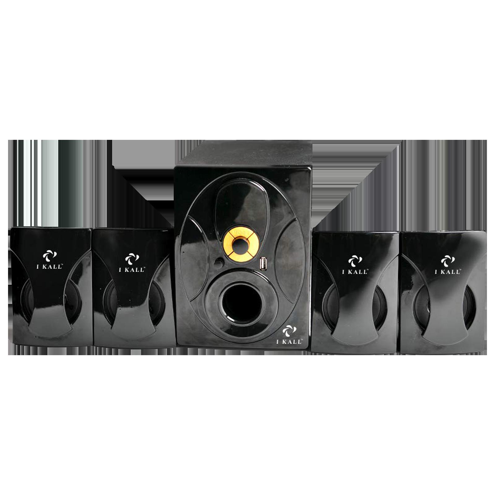 I KALL 4.1 Channel 60 Watts Standard Home Theatre System (LED Display, IK-202, Black)_1