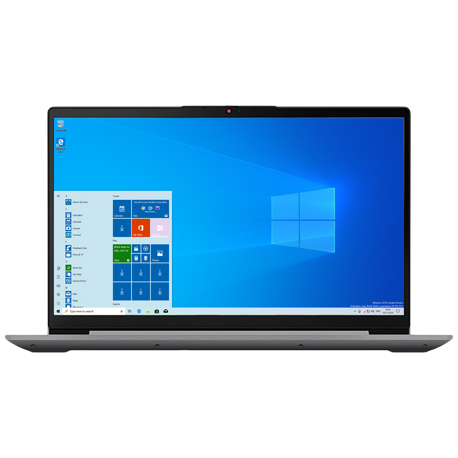 Lenovo IdeaPad 3 15ITL6 Core i3 11th Gen Windows 10 Home Thin and Light Laptop (8GB RAM, 512GB SSD, Intel UHD Graphics, MS Office, 39.62cm, 82H801G0IN, Arctic Grey)_1