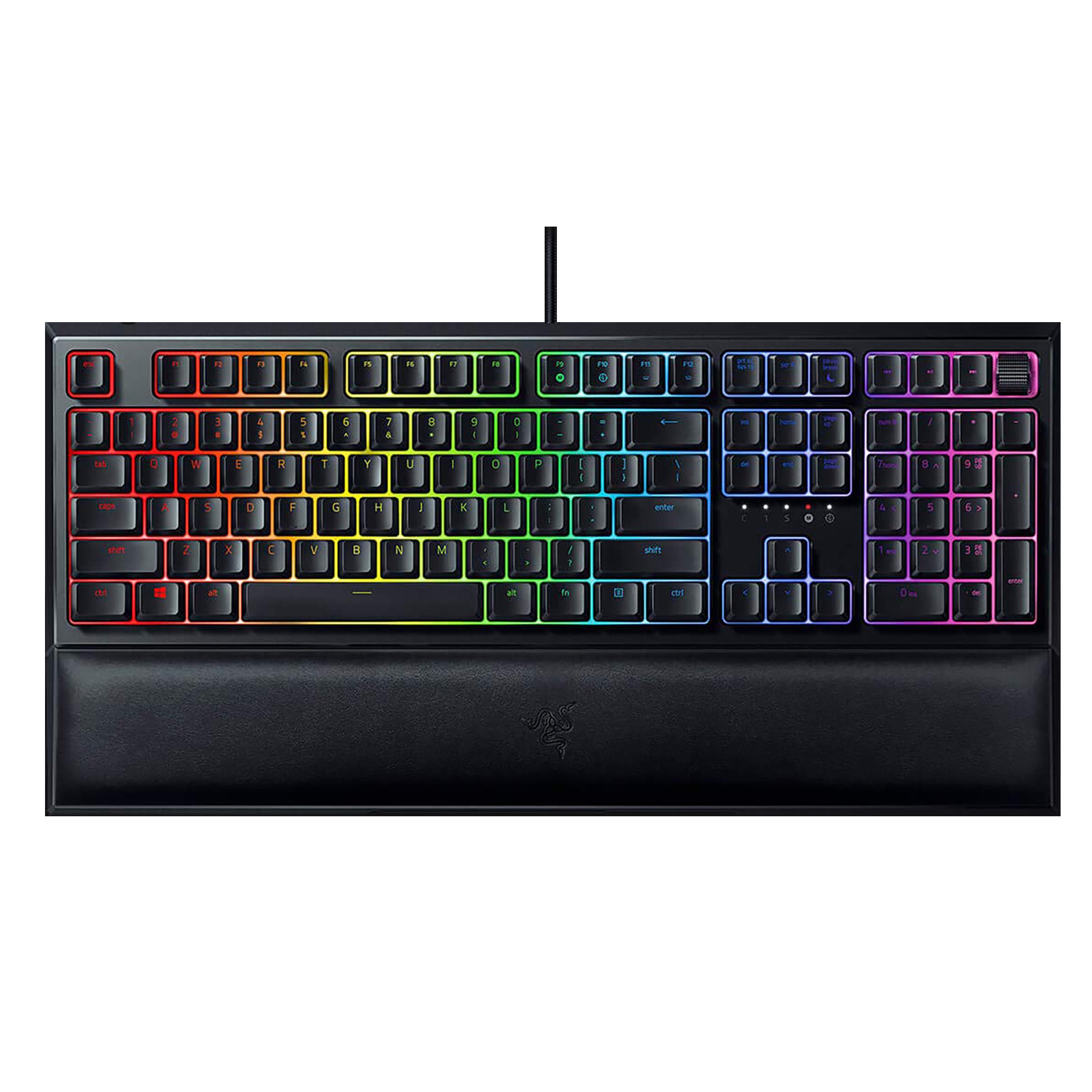 Razer Ornata V2 Wired Gaming Keyboard (Mecha-Membrane Switch, RZ03-03380100-R3M1, Black)_1