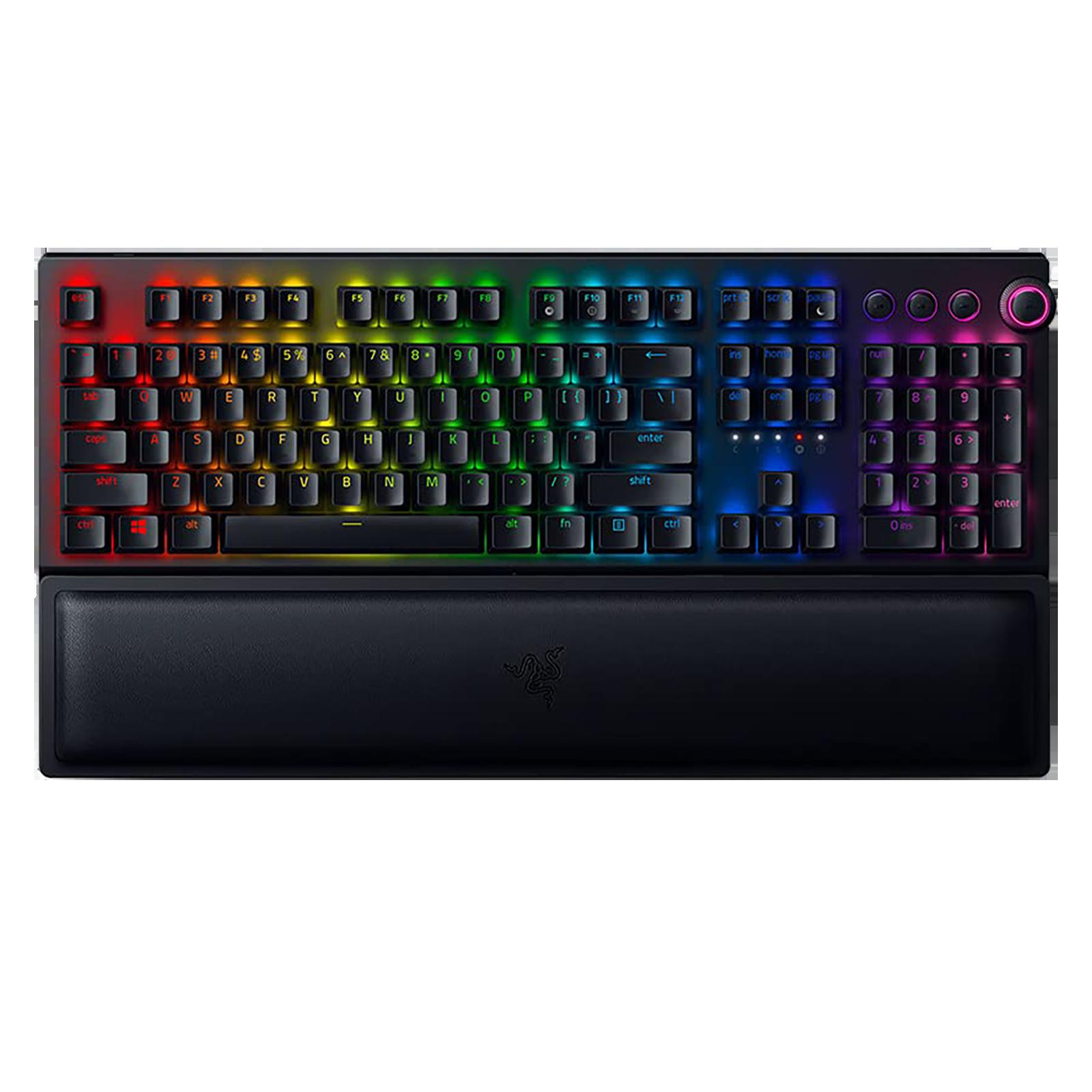 Razer BlackWidow V3 Pro Wireless Gaming Keyboard (Green Mechanical Switch, RZ03-03530100-R3M1, Black)_1