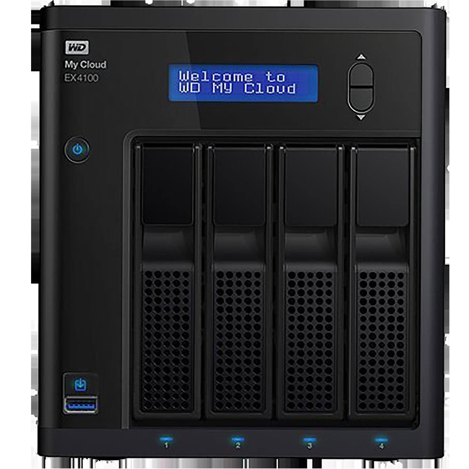 Western Digital My Cloud 24 TB USB 1.1 Network Attached Storage (JBOD Easy Set Up, WDBWZE0240KBK-BESN, Black)_1